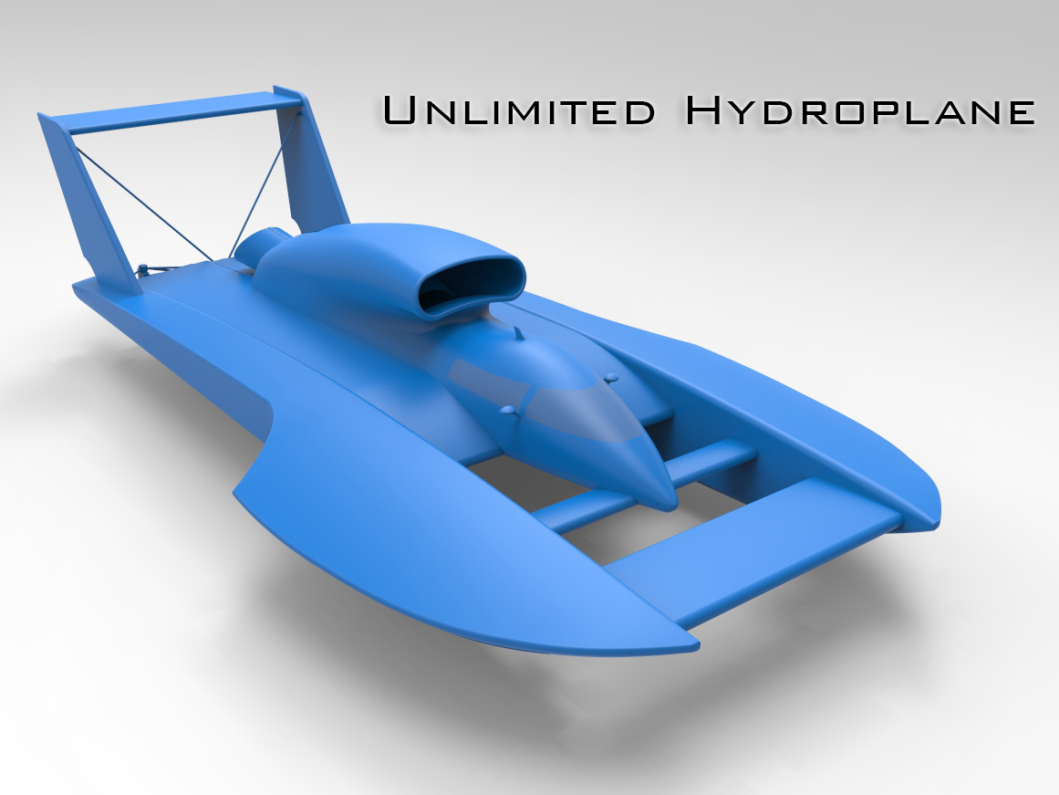 Unlimited Hydroplane by thinkin3D - Thingiverse