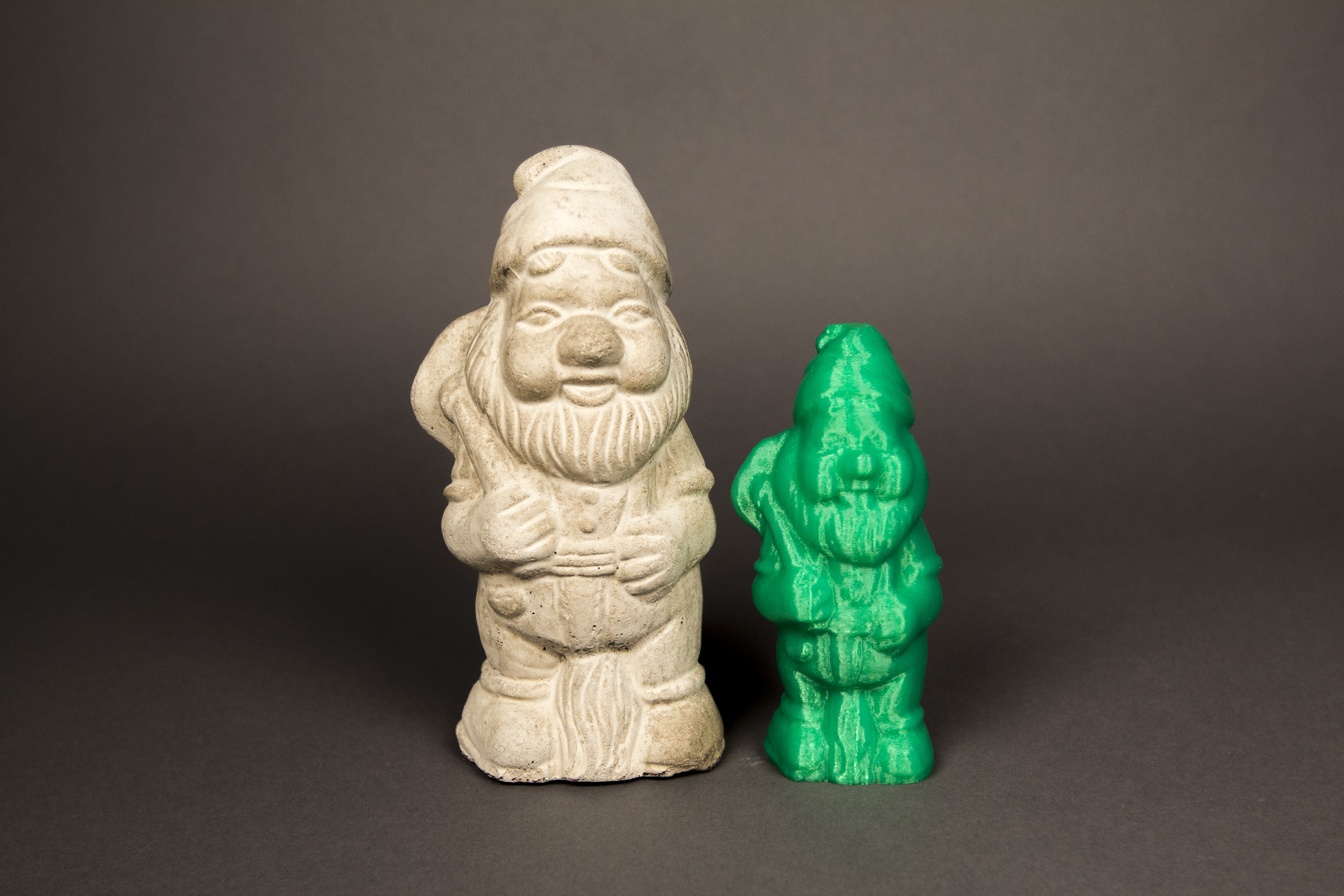 Garden gnome digitized! by makerbot thingiverse