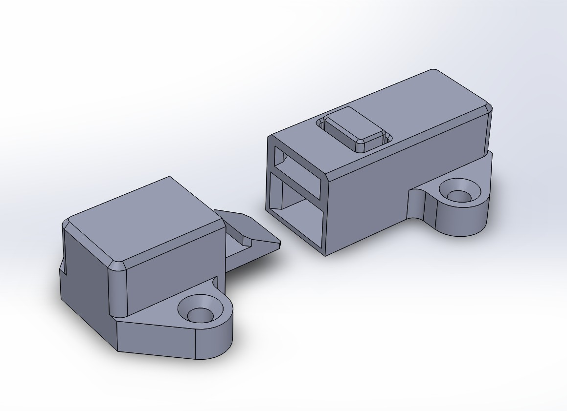 Latch Lock For Chest Or Sliding Door By Lukie80 Thingiverse