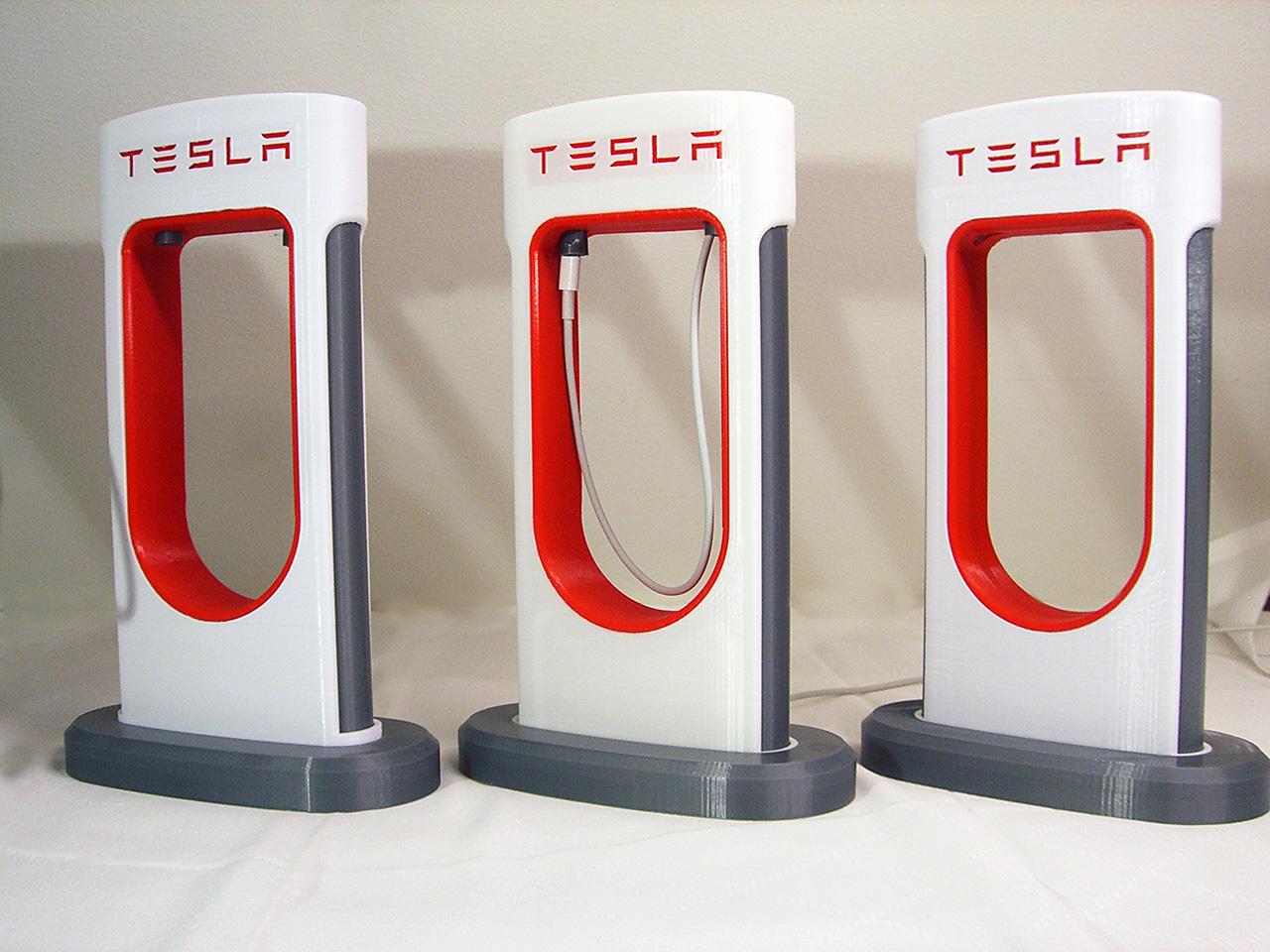 Tesla SuperCharger by FunctionalDesign - Thingiverse