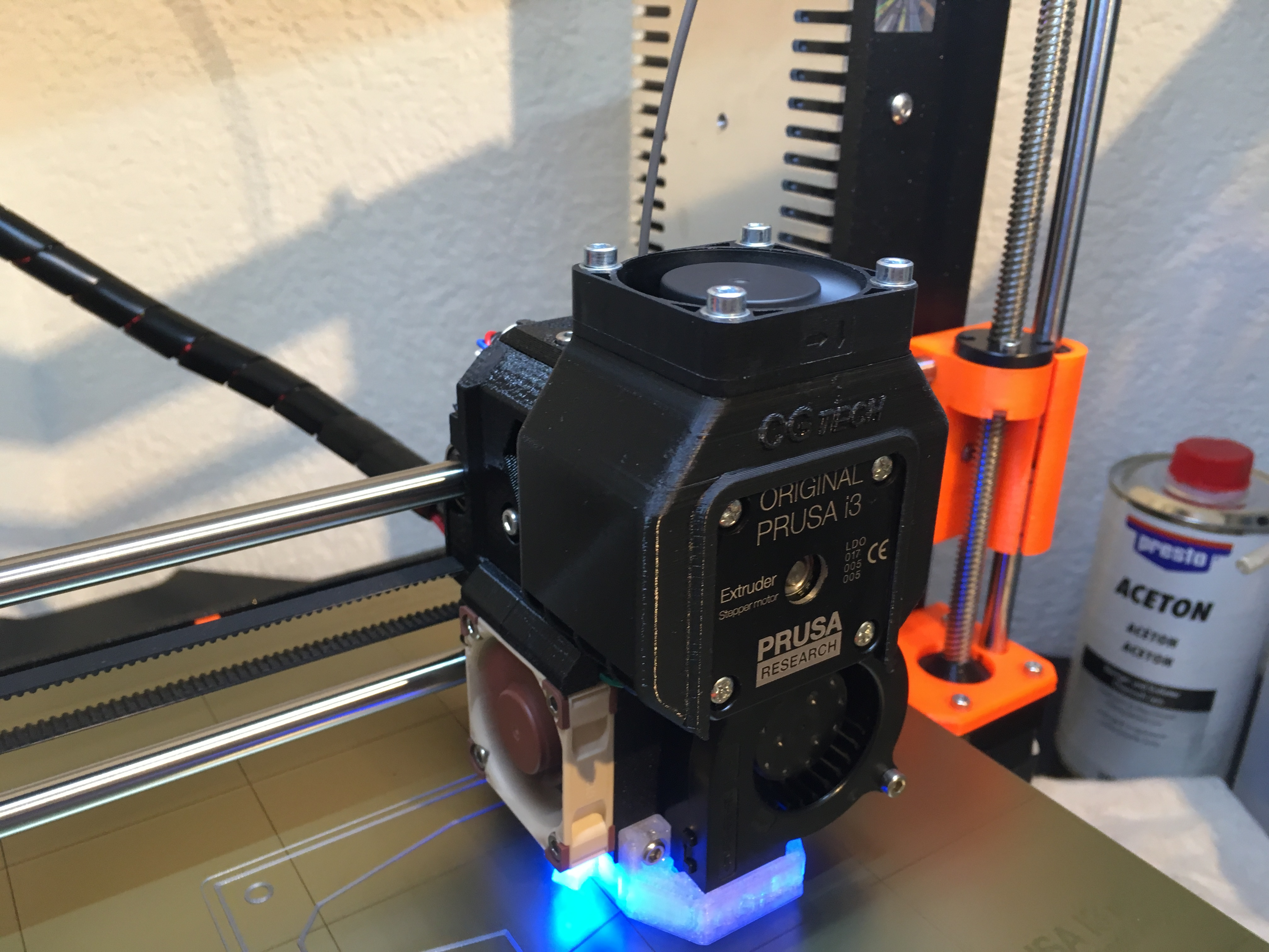 Prusa i3 MK3 Extruder Stepper cooler by CG-Tech - Thingiverse
