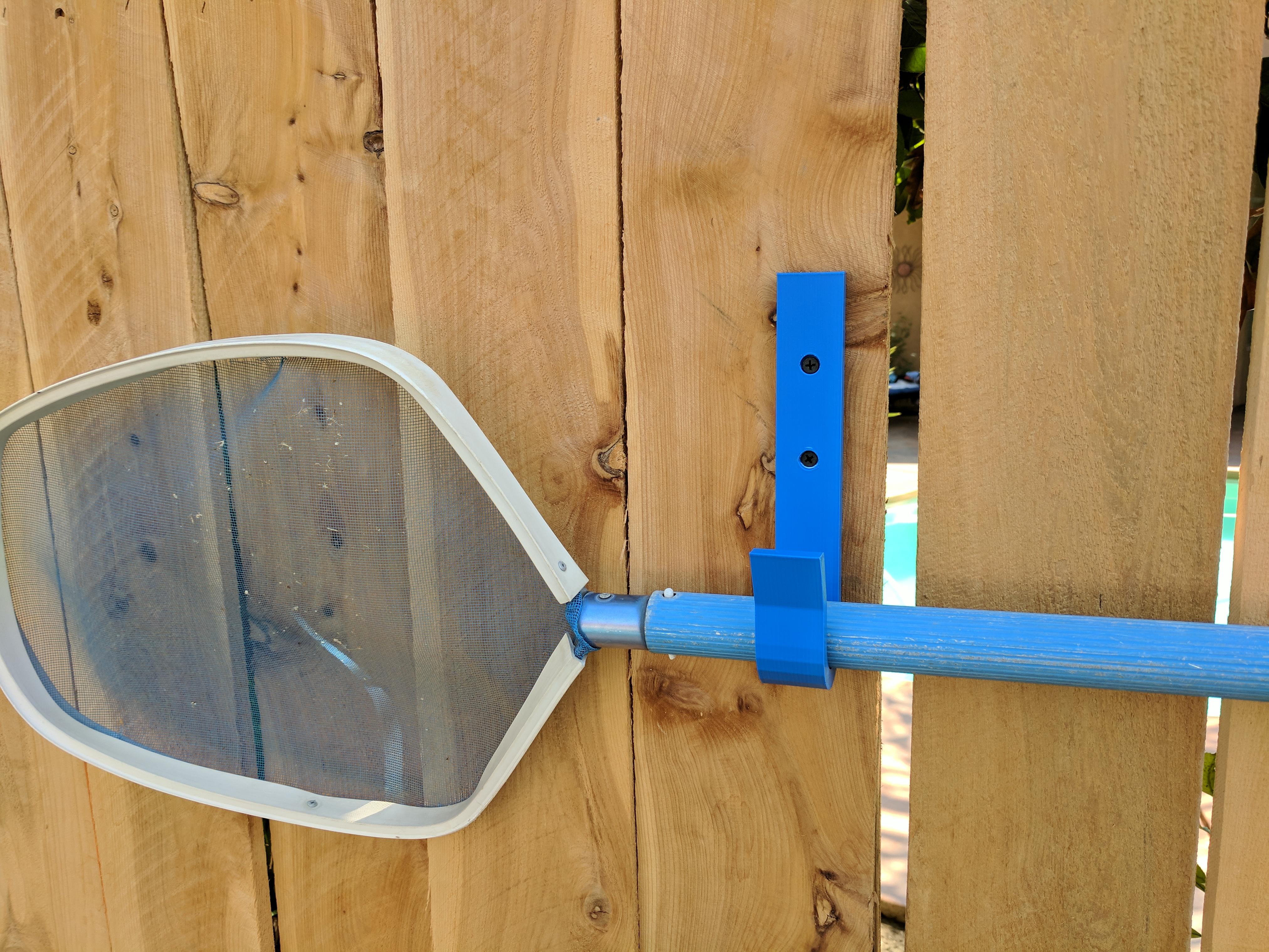 hooks for pool skimmer