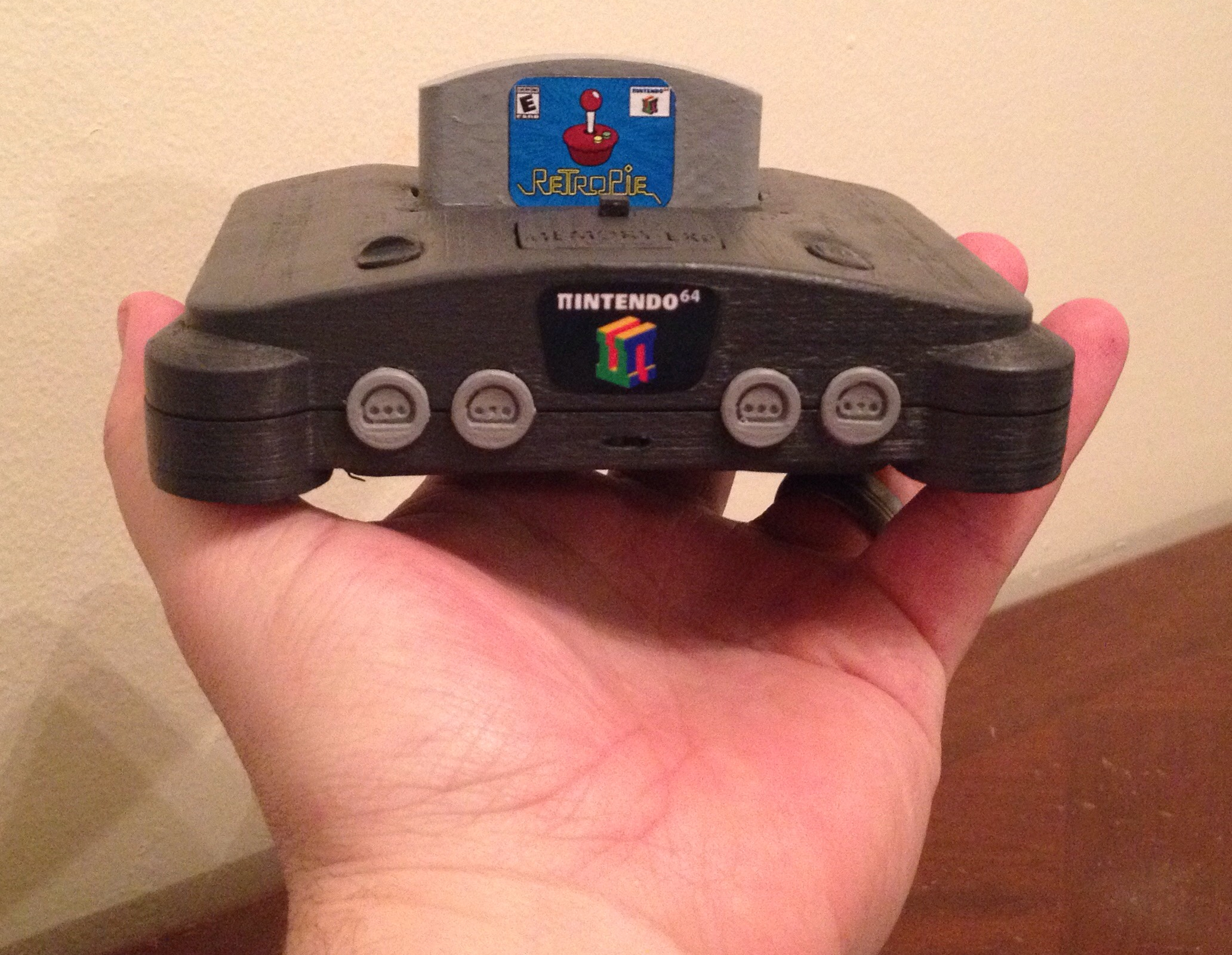π64 (mini N64 retro game case) by elhuff - Thingiverse