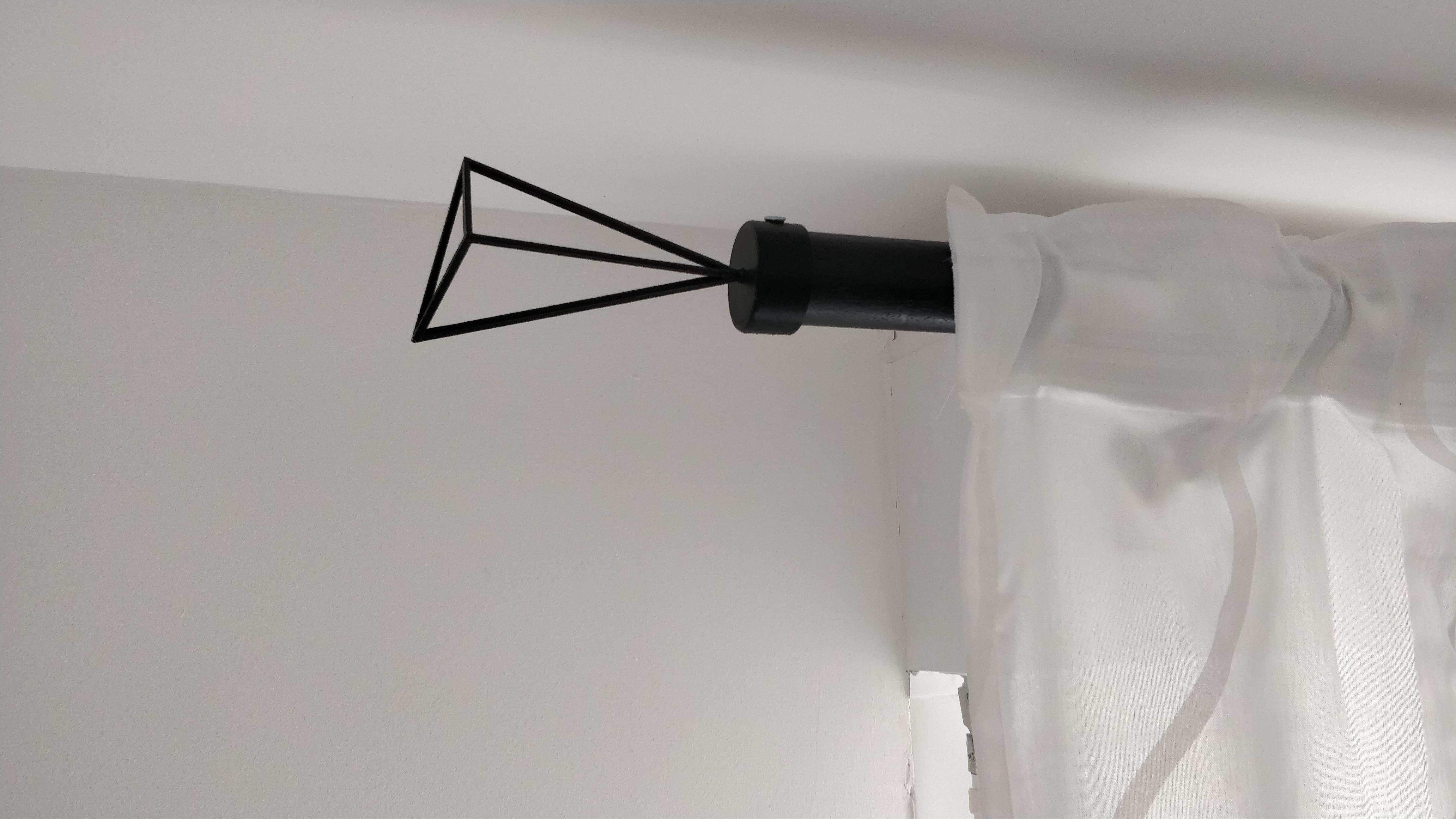 Rideau Caisson Volet Roulant fixation barre de rideaubastien37 - thingiverse