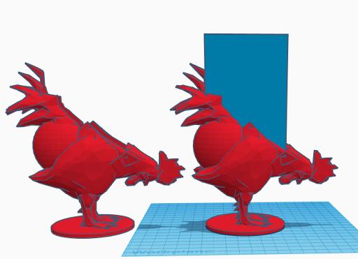 Rooster Sponge Holder by Dresdens_Workshop - Thingiverse