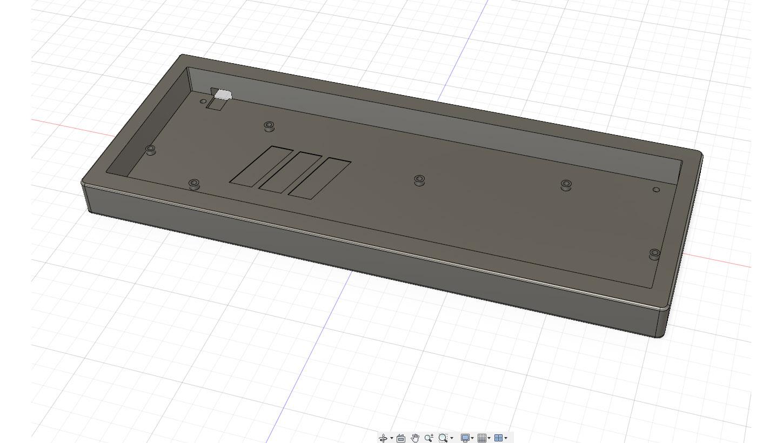 XD75 Keyboard Case (Hi Profile) by Threewheelz - Thingiverse