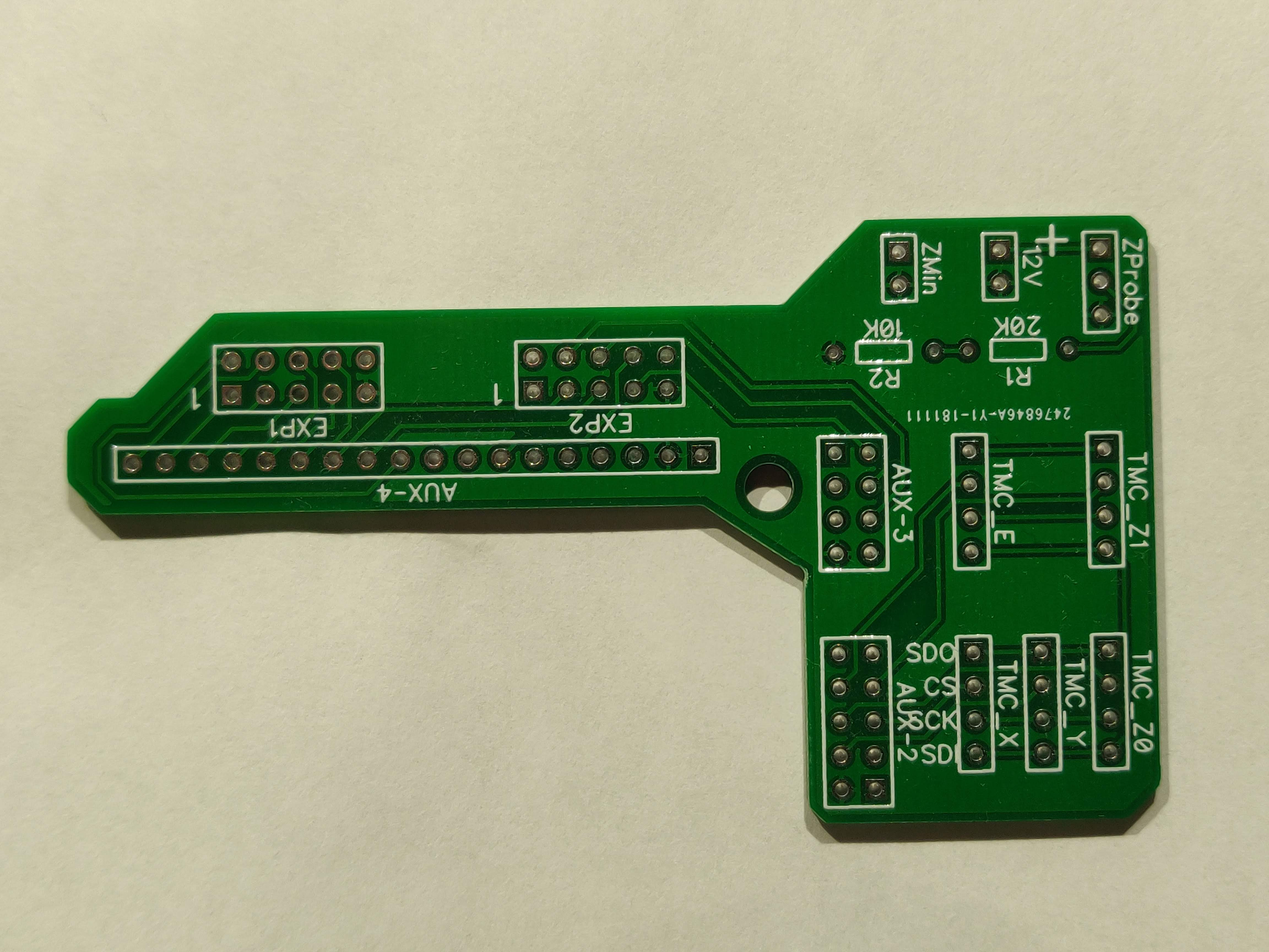 TMC2130 Silent Step Stick RAMPS Adapter PCB by HElados - Thingiverse