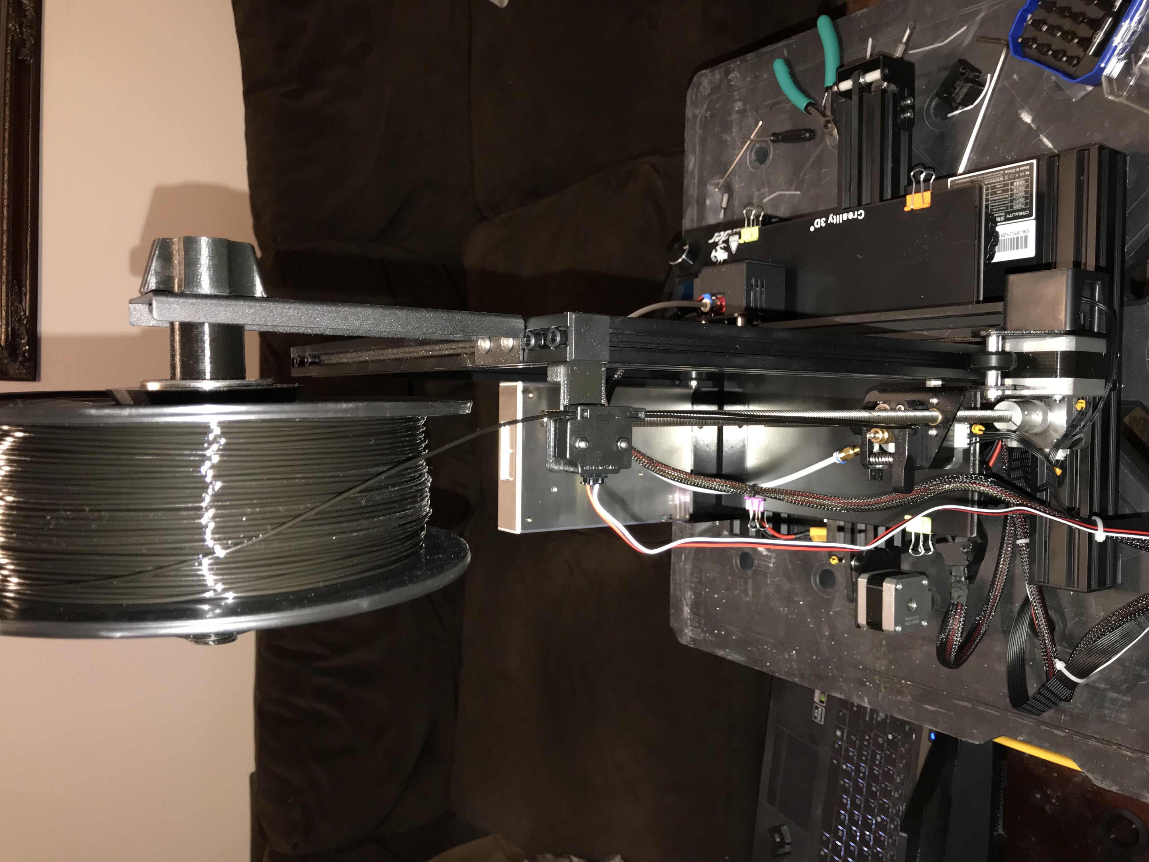 ender 3 th3d filament sensor holder by Trialnterror
