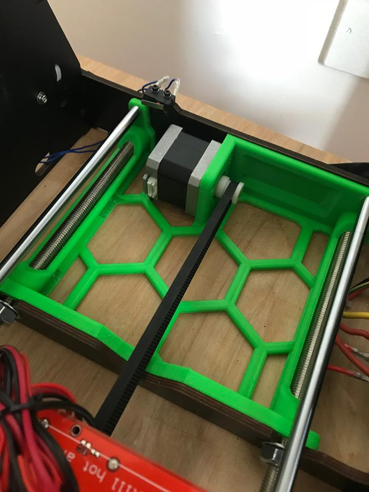 CTC Anet A8 Rear Frame Brace by insomaniac45 - Thingiverse
