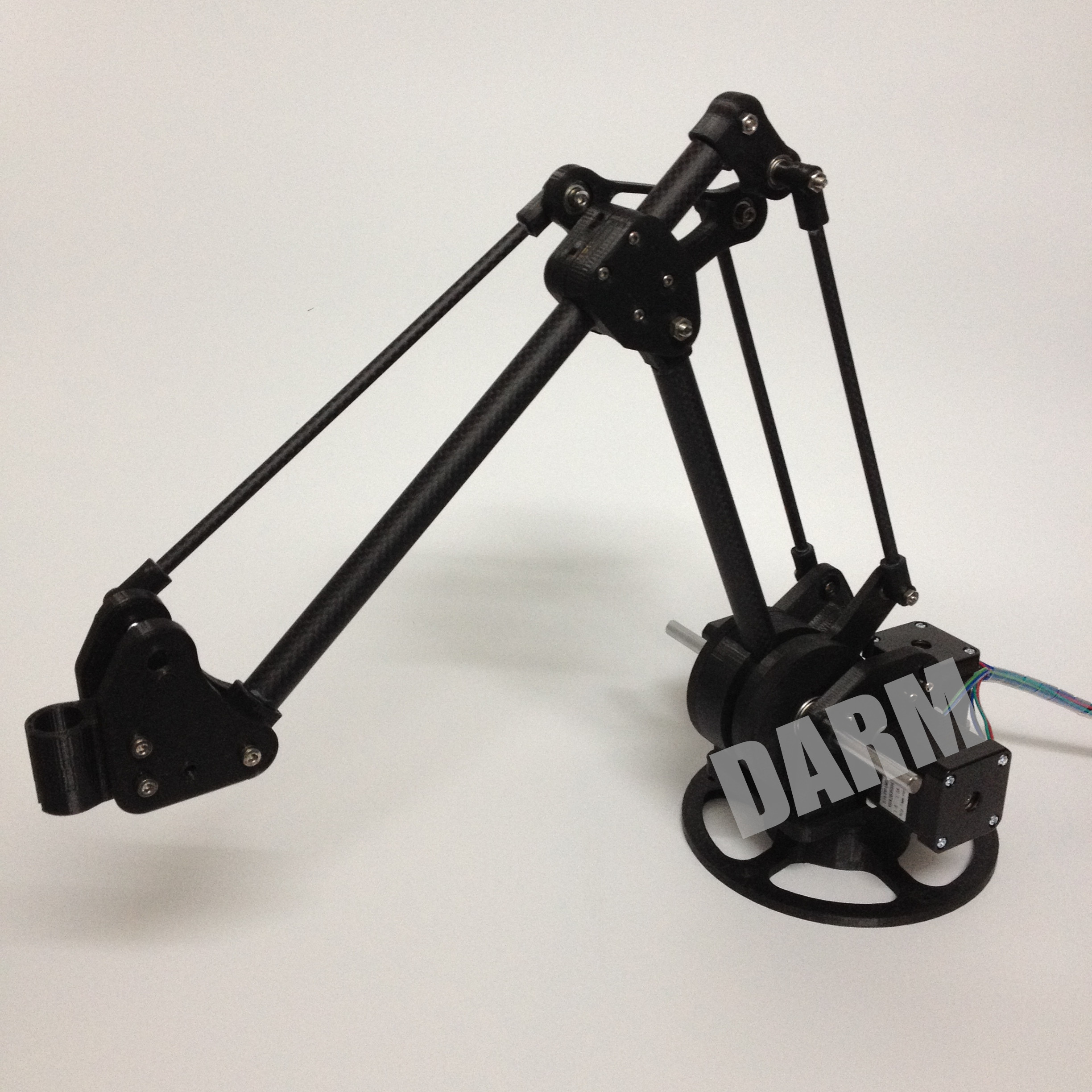 3d print desktop robot arm(DARM) by seagull008 - Thingiverse