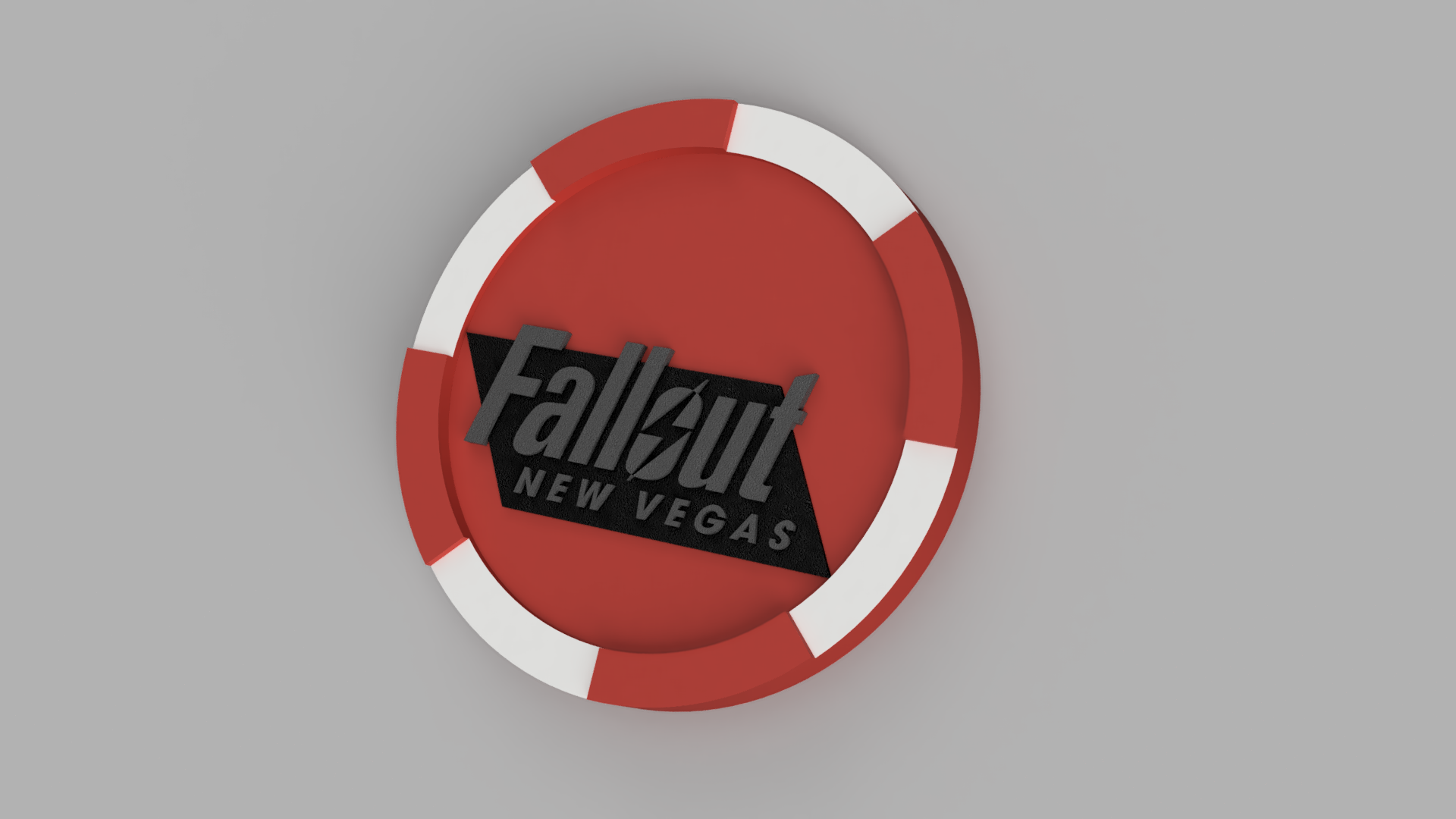 Fallout New Vegas Poker Chip By Scarypineapple Thingiverse