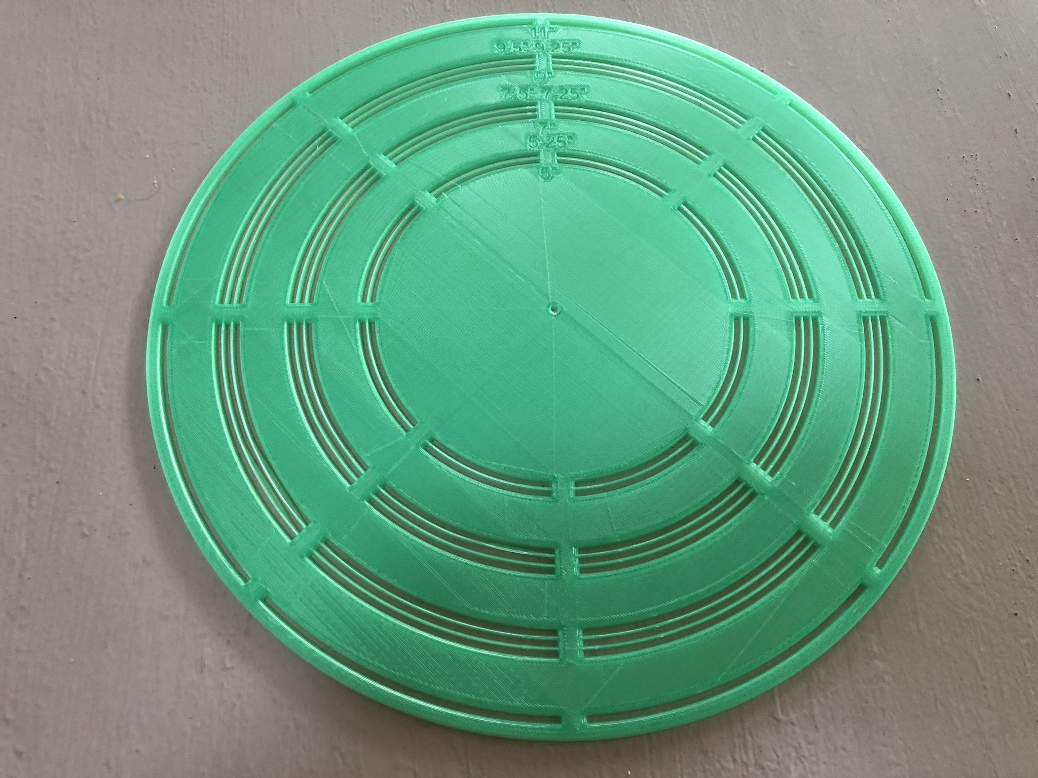 Circle Template By Mcgeehd Thingiverse