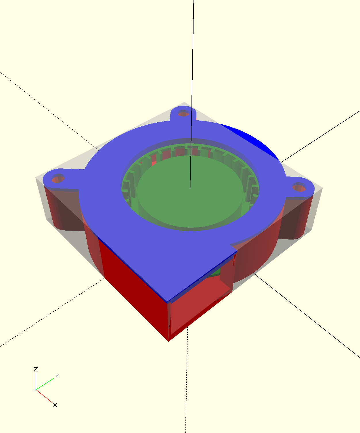 Centrifugal Fan By Jinhwanlazy Thingiverse Wiring Diagram Feb 2 2015 View Original