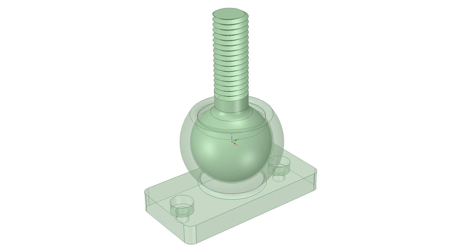 Ball And Socket Joint All In One Print Test Object For