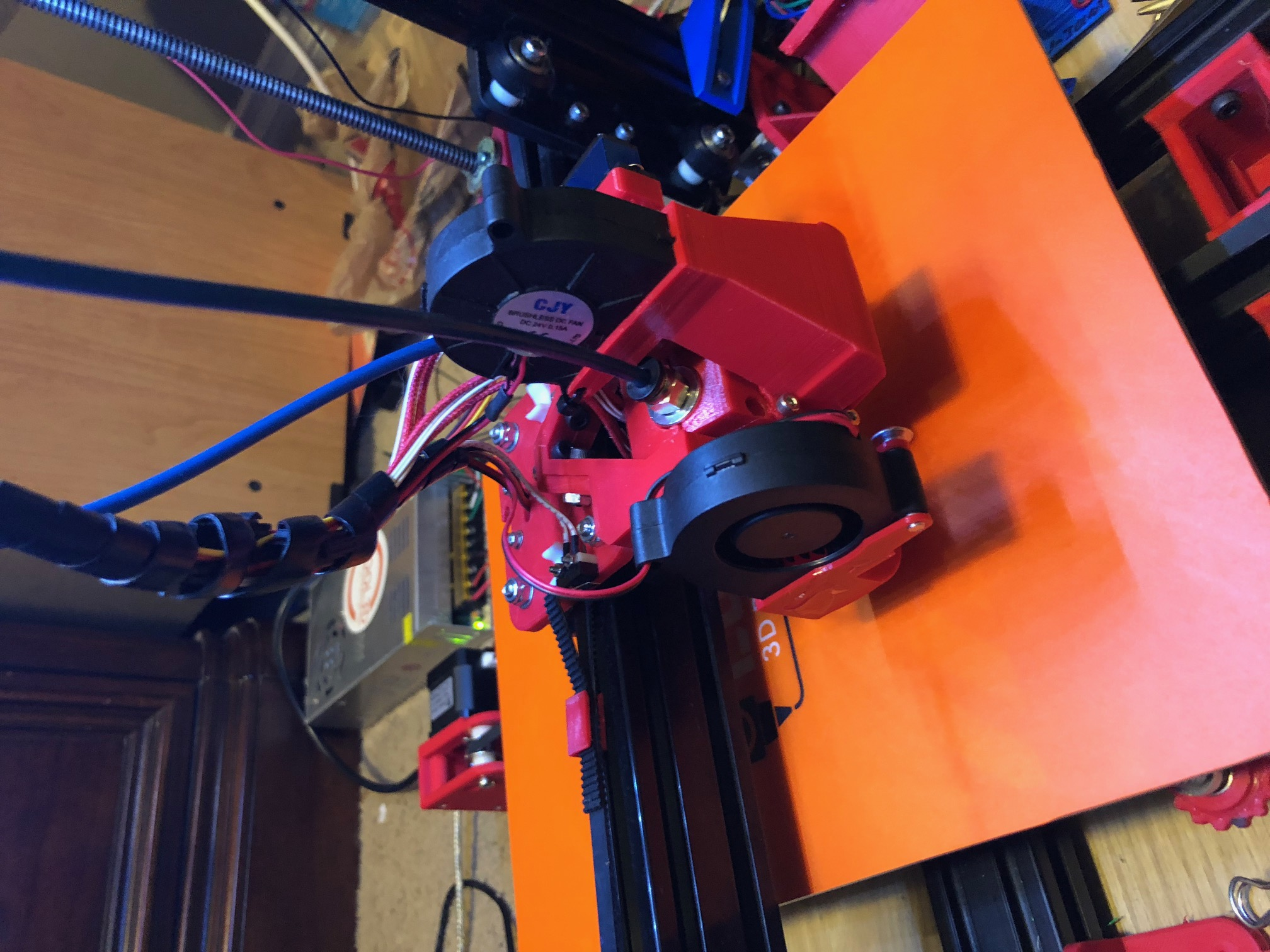 Dual Switching Extruder Servo rotating no ooze by