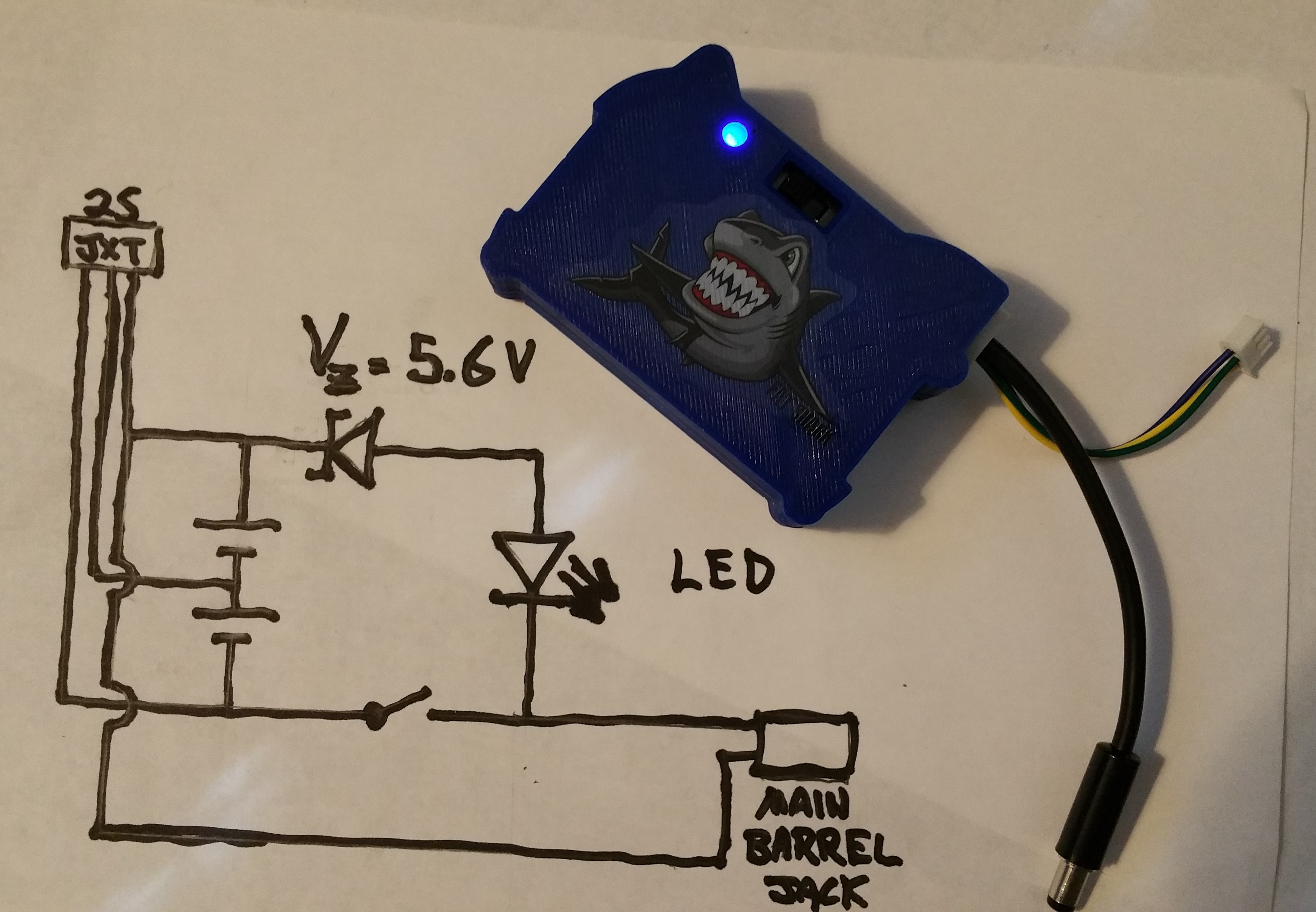 Fat Shark Fpv Goggle Battery With On Off Switch And Power Indicator Diagram Wiring Basic Lithium Ion Charger Circuit By Jellofrog Feb 25 2017 View Original