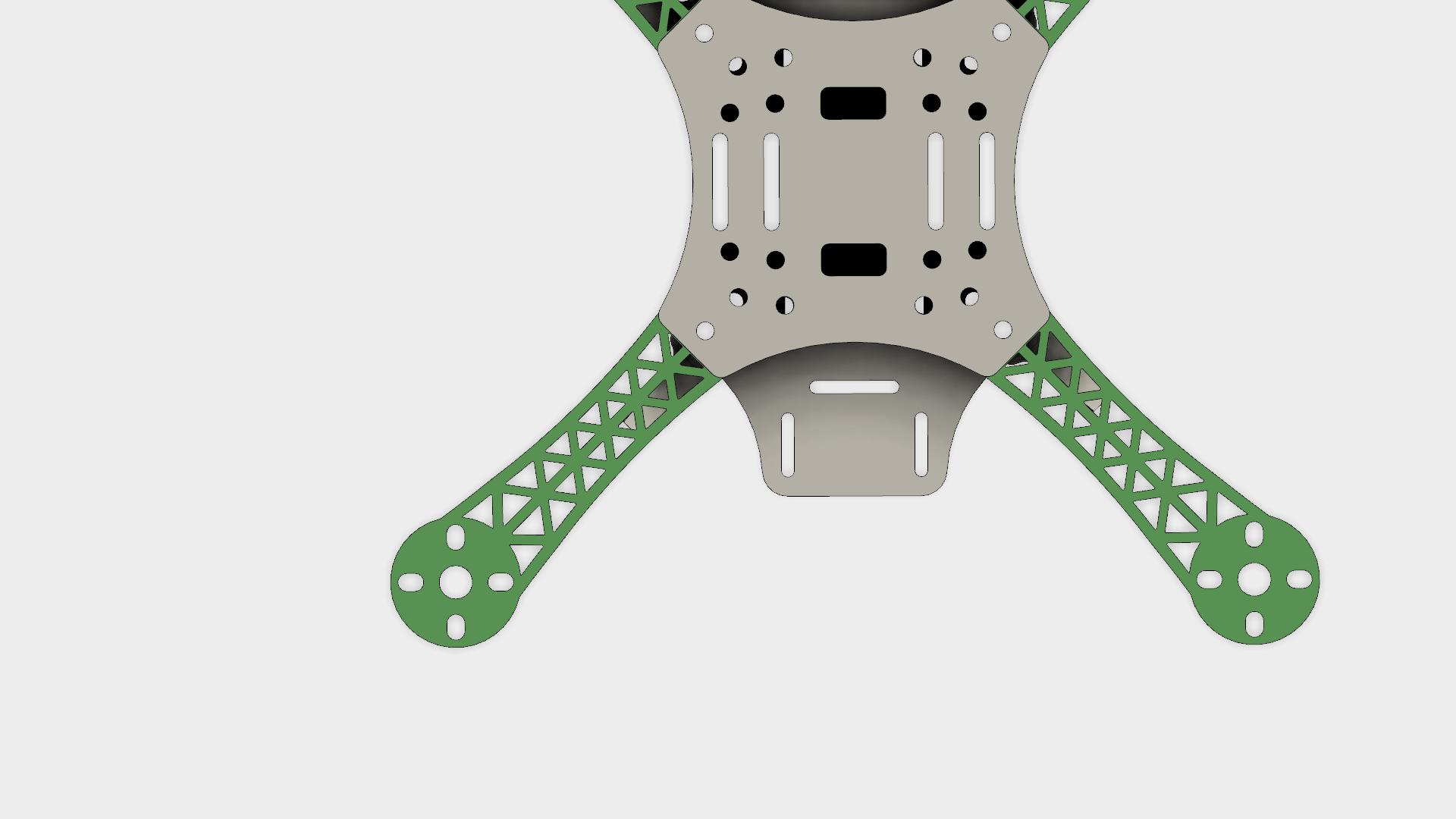 Modular DJI Flamewheel Quadcopter Frame - 220/250/280mm by ...