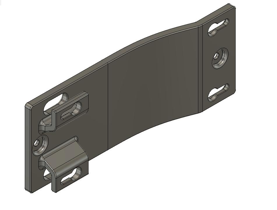 Cisco SX20 Codec wall-mount / bracket by JudaZuk - Thingiverse