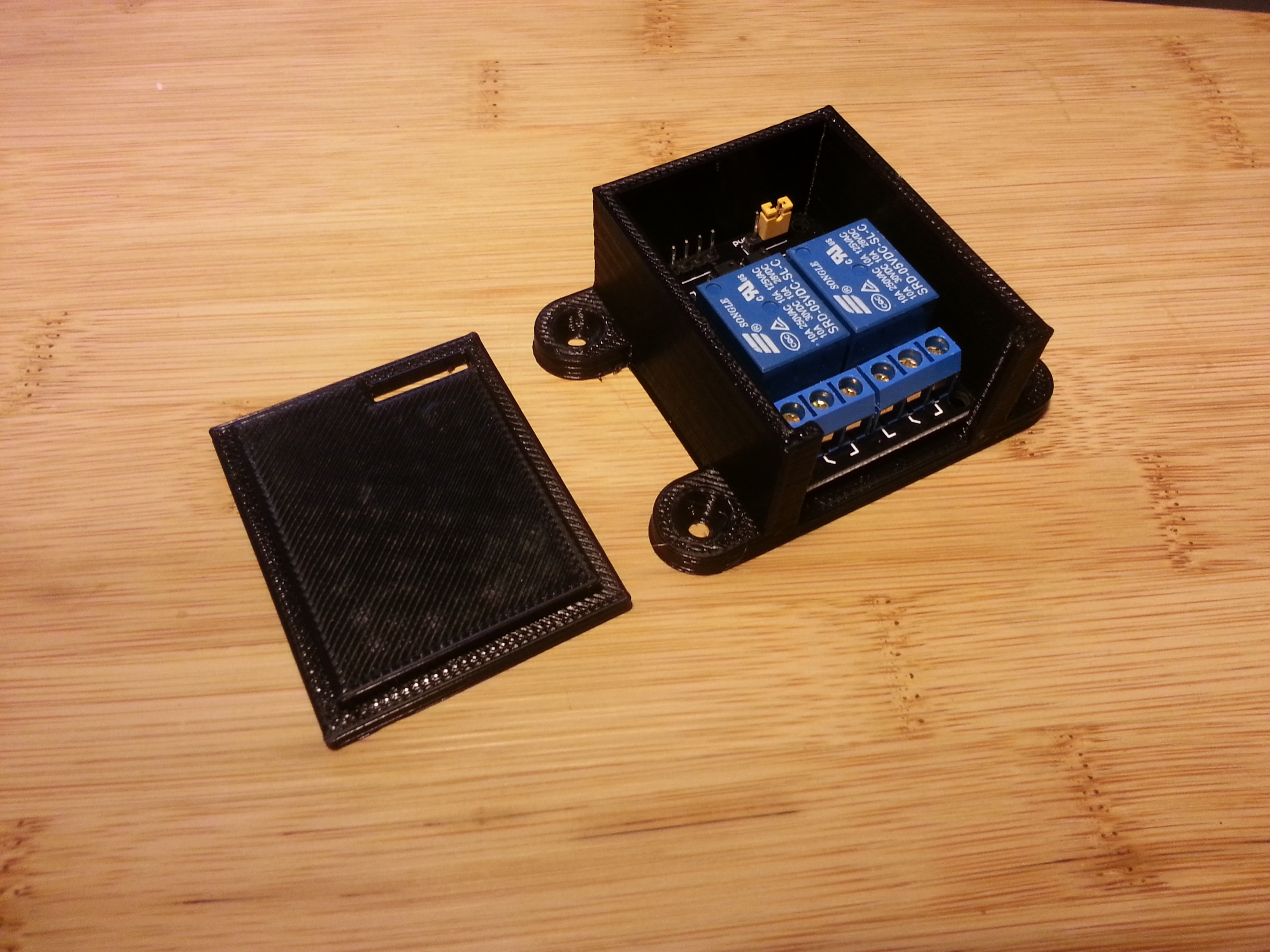 Mountable Case With Lid For 2 Channel Relay Board By Northernlayers Jul 29 2015 View Original