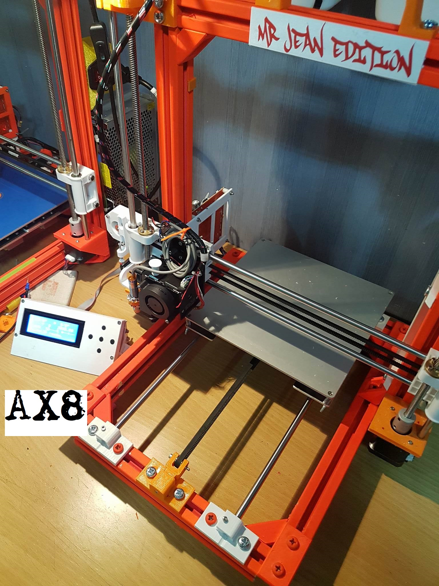 AX8 Anet a8 frame ( AM8 remix ) by MrJean - Thingiverse