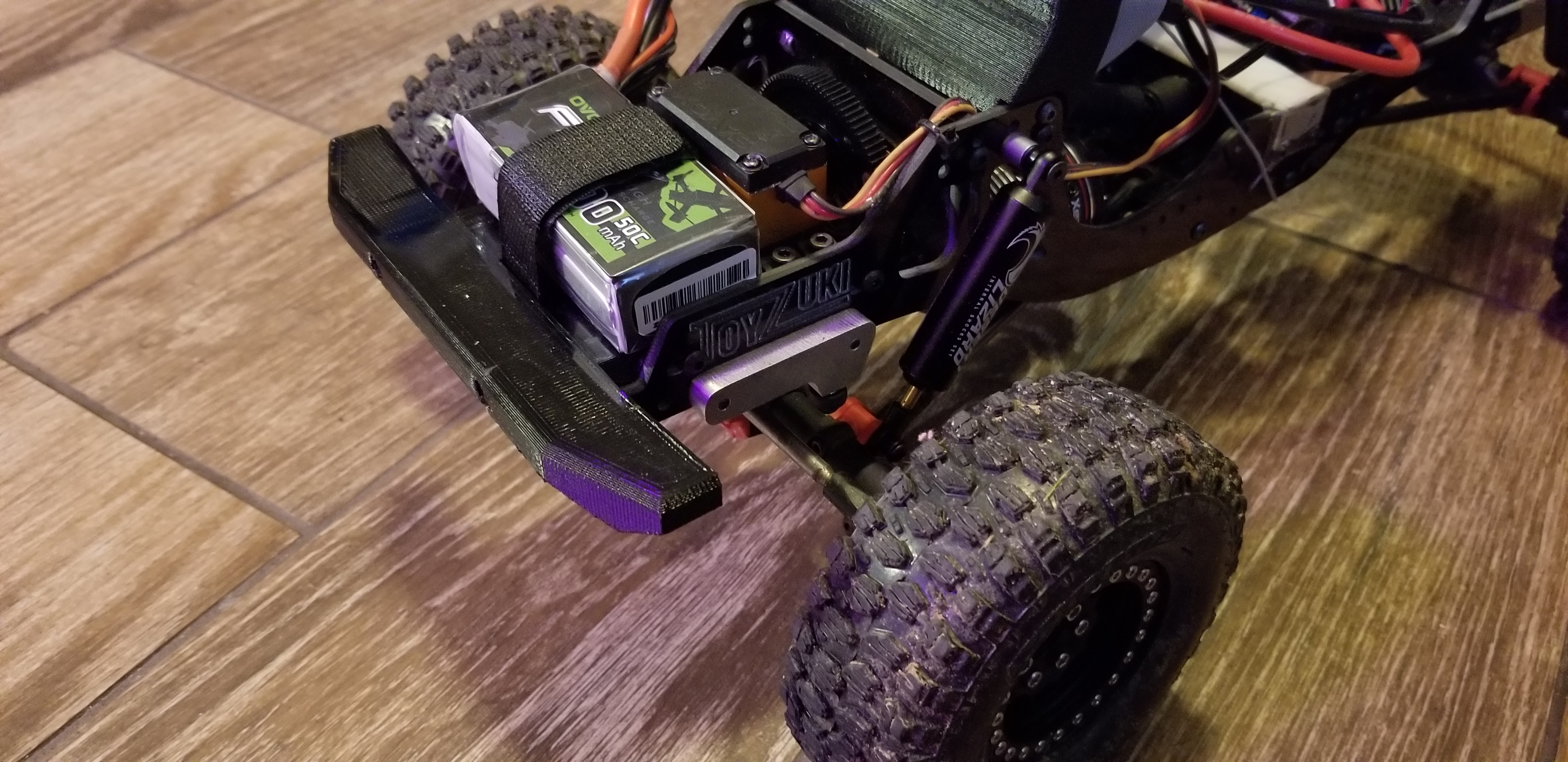 Toyzuki Front Bumper and Battery/Servo Platform by