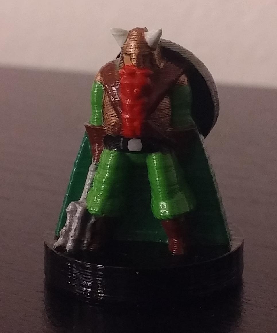 dwarf cleric dampd miniature by mattdb thingiverse
