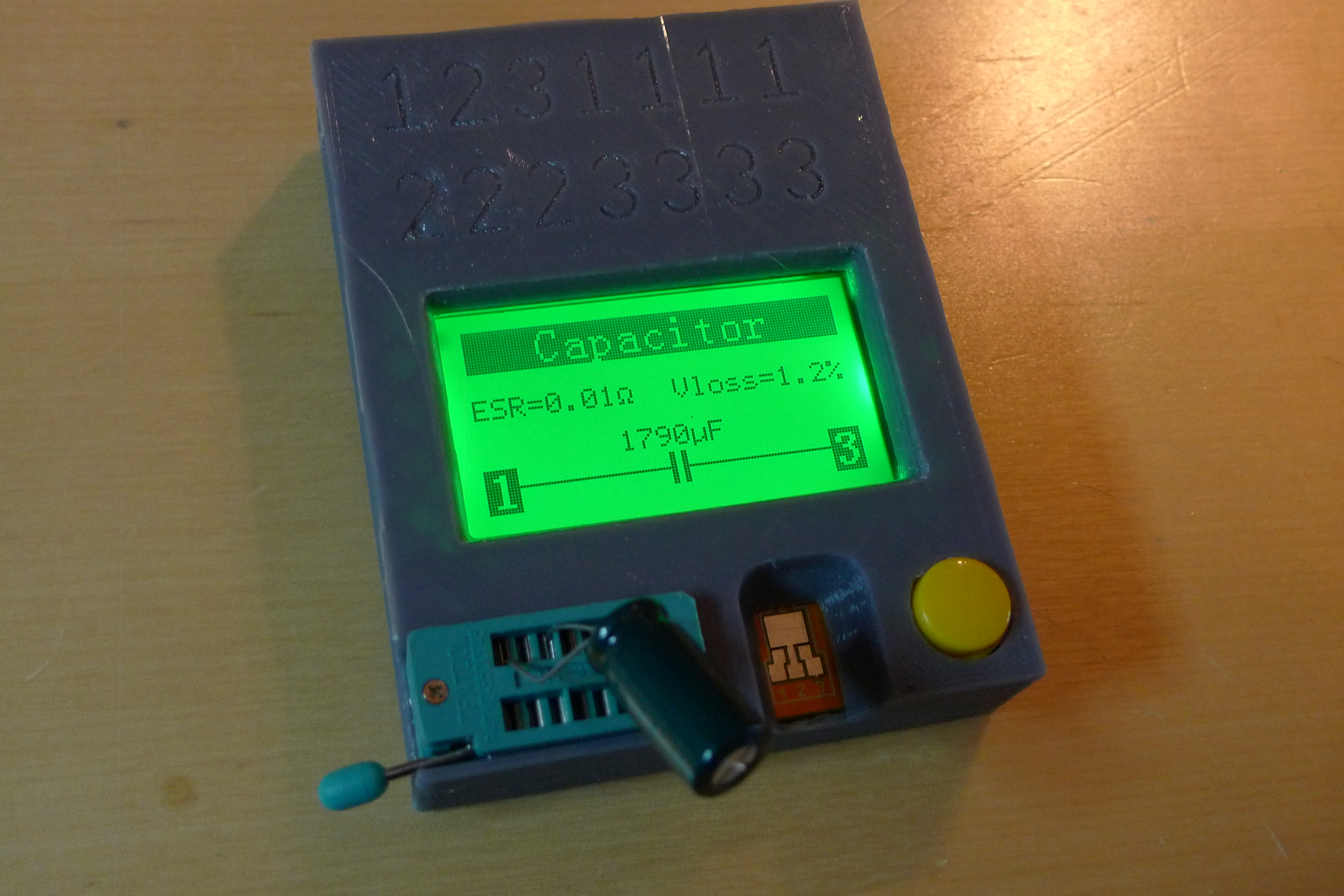 Case For Lcr T4 Component Tester By Egil Thingiverse Bridge Ebay May 2 2015 View Original