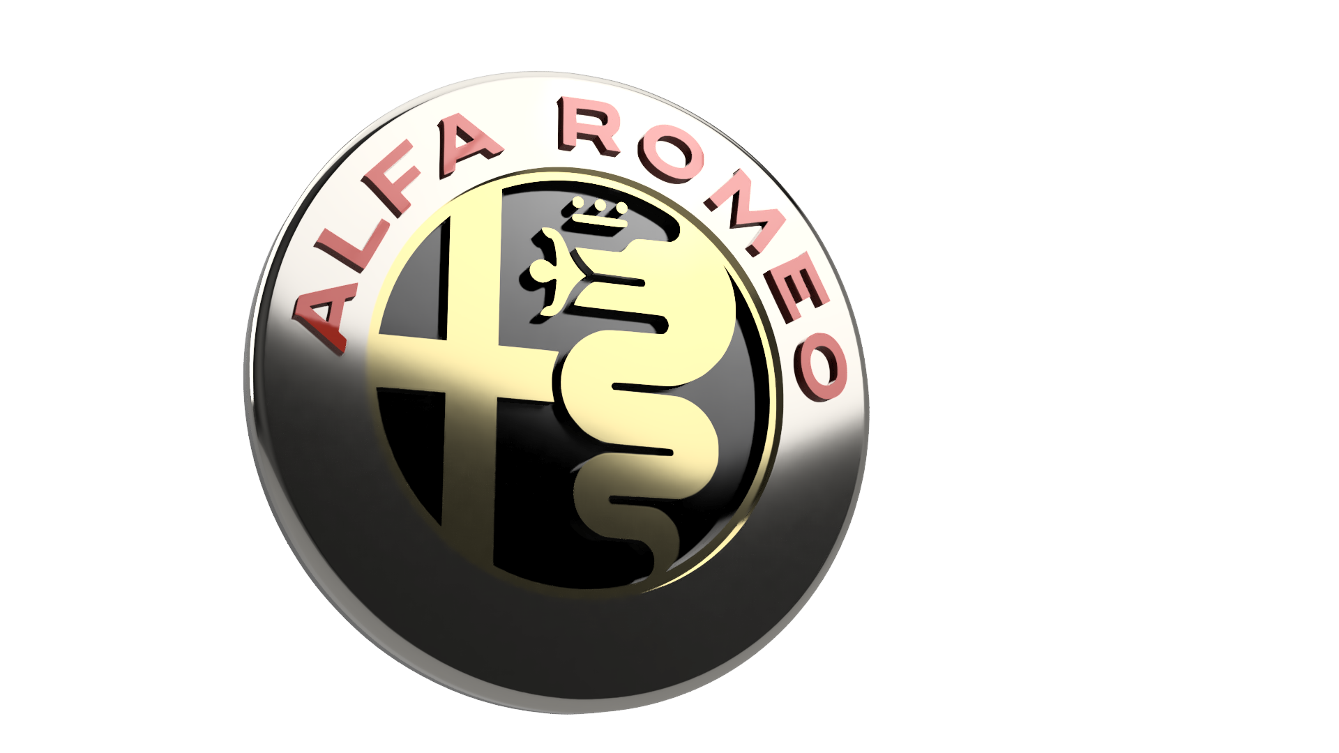 Alfa Romeo Logo By Djpac2pac Thingiverse Symbol Jun 1 2018 View Original