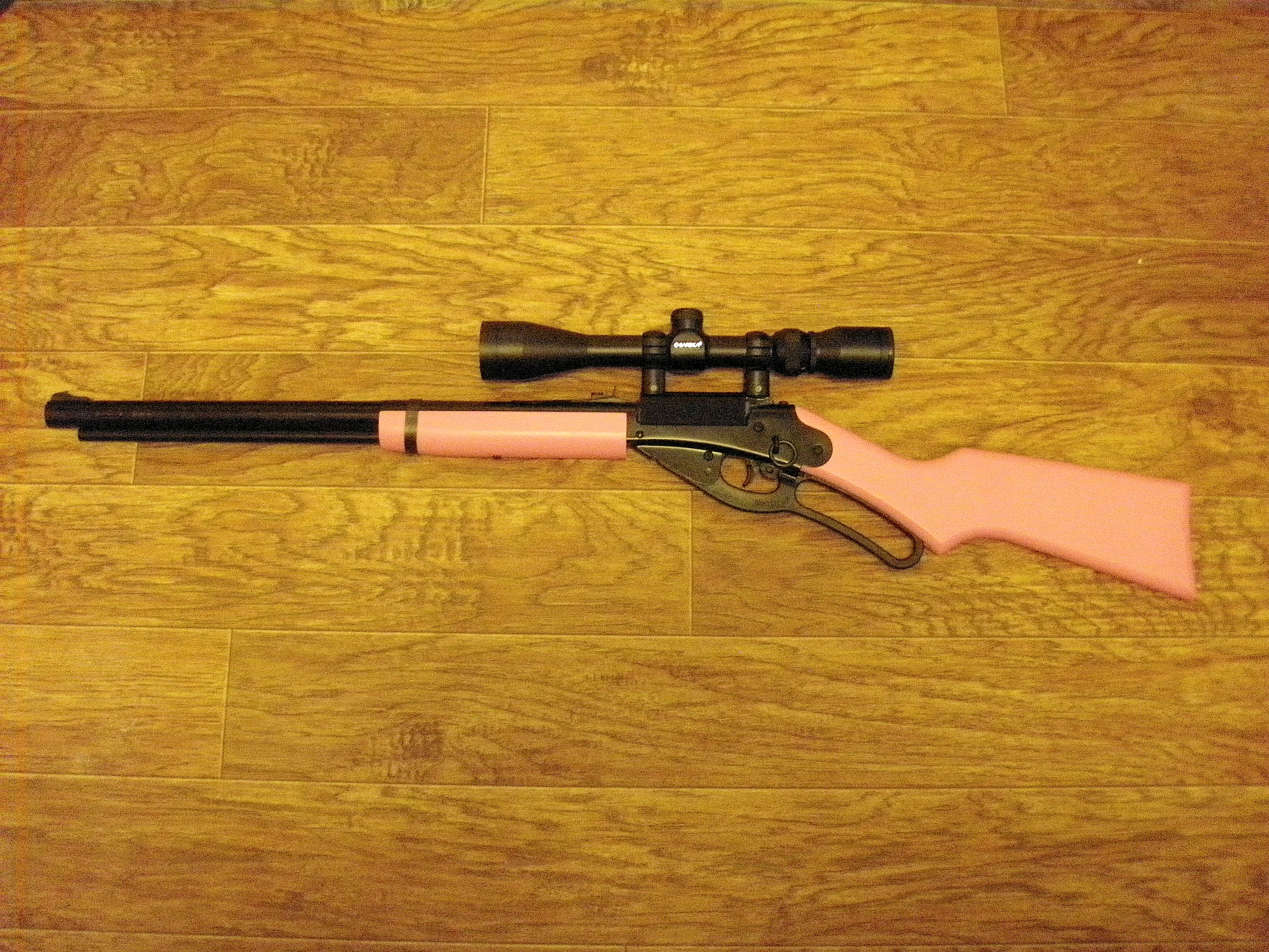 Red Ryder Scope Rail By Petelaric Thingiverse