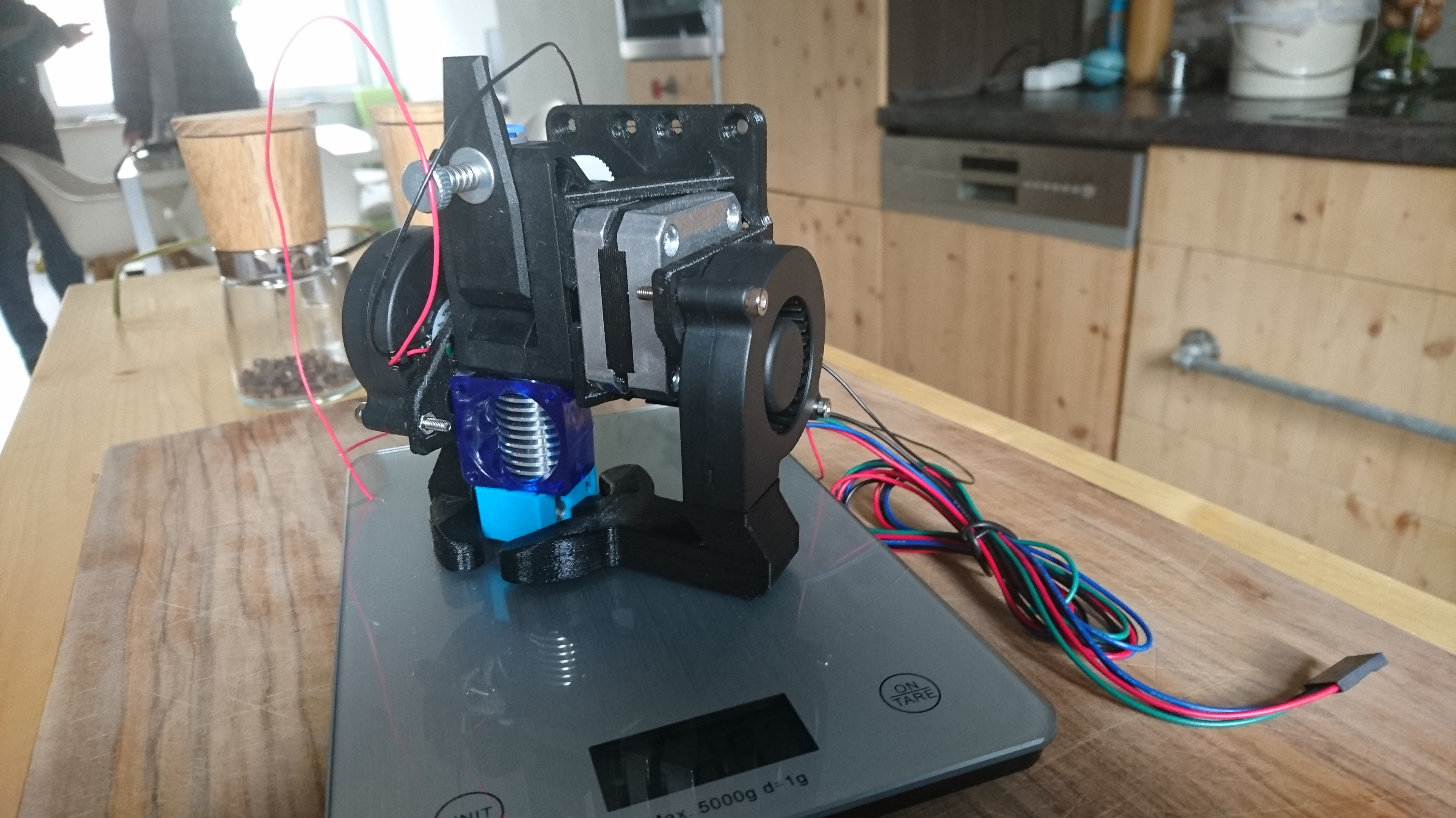 Directdrive X-Carriage Anet A8 for E3D V6+ Bondtech BMG extruder by