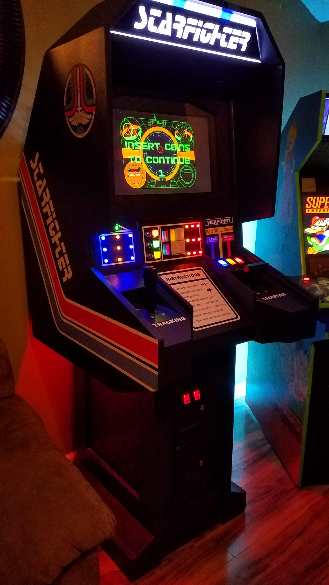 Starfighter Arcade Parts by ifitworks - Thingiverse