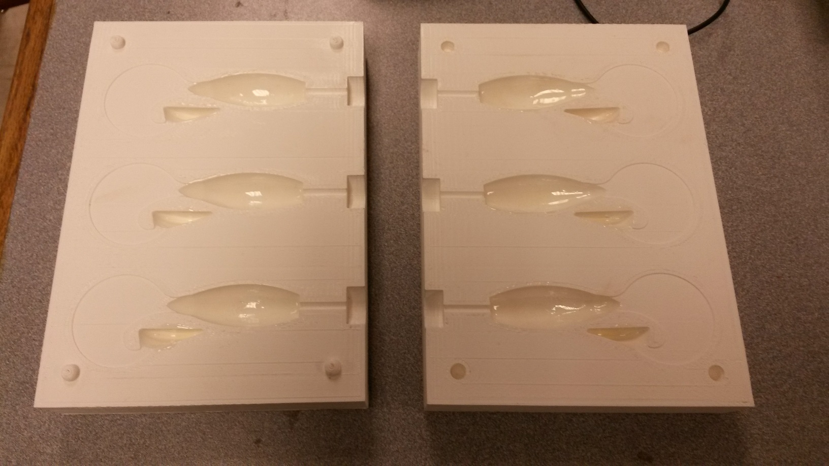 Fishing Lure Mold by andreast - Thingiverse