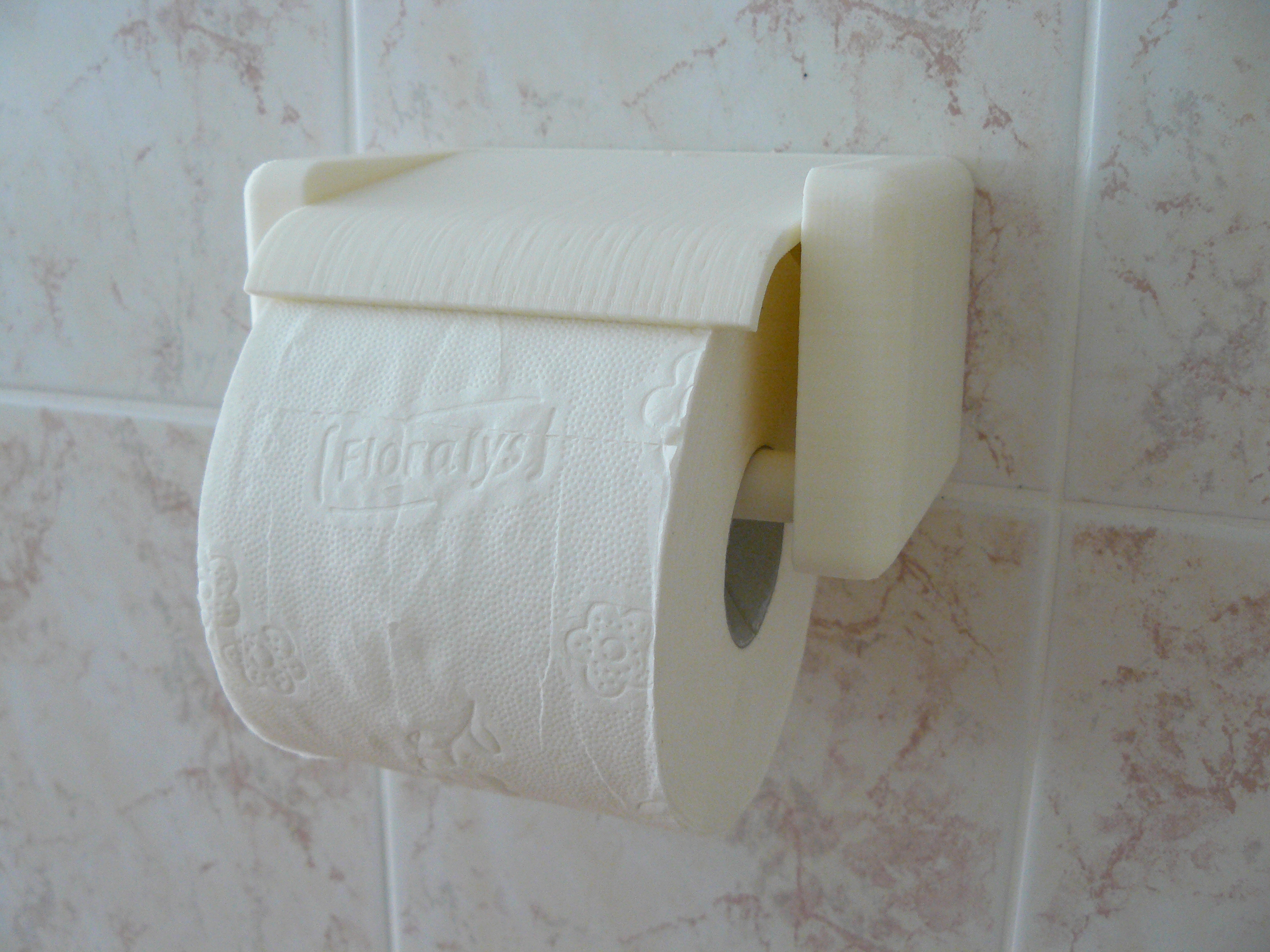 Quick Change Toilet Paper Holder By Dragonator Thingiverse