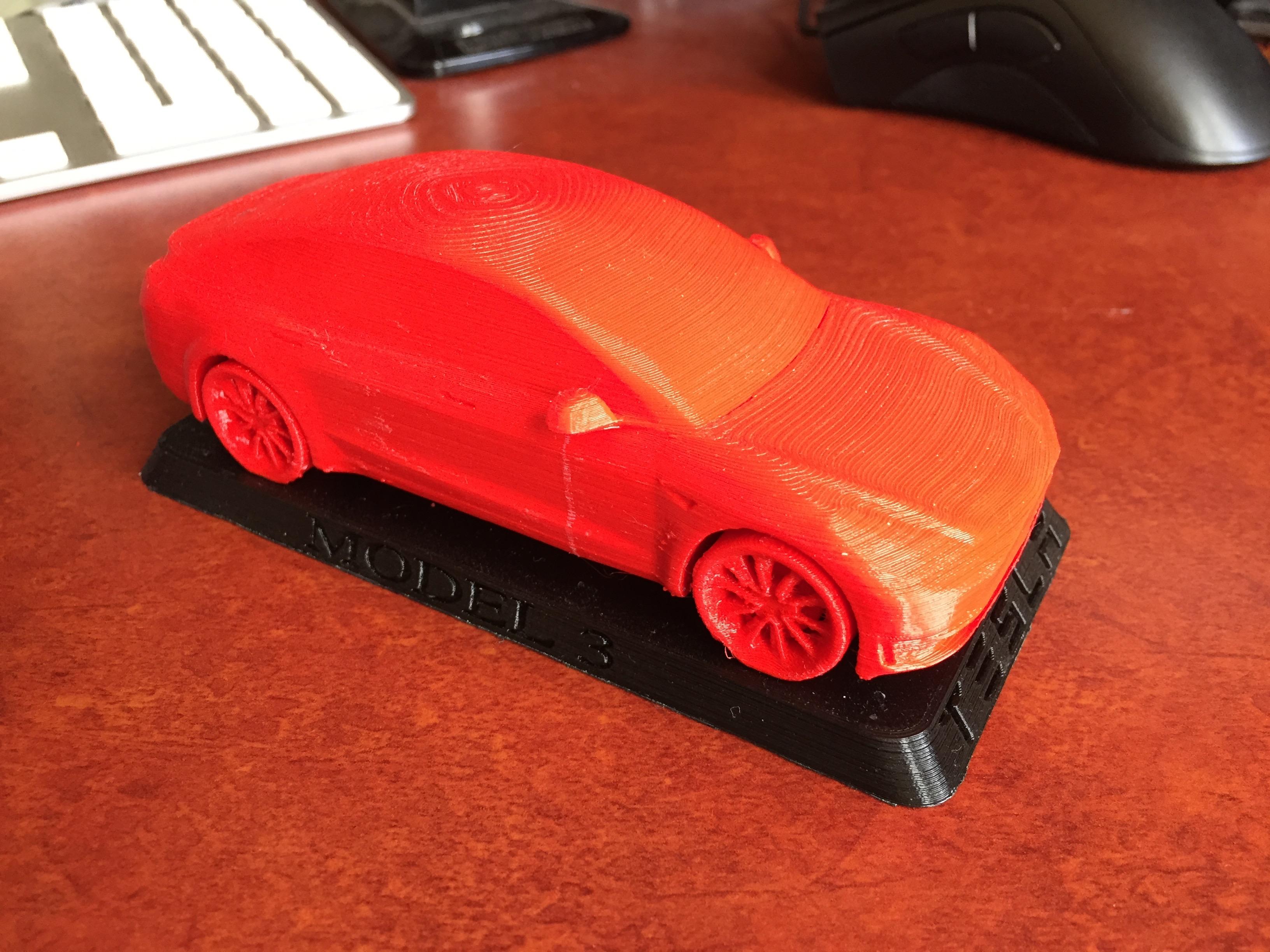 Tesla Model 3 by Nowhereman999 - Thingiverse