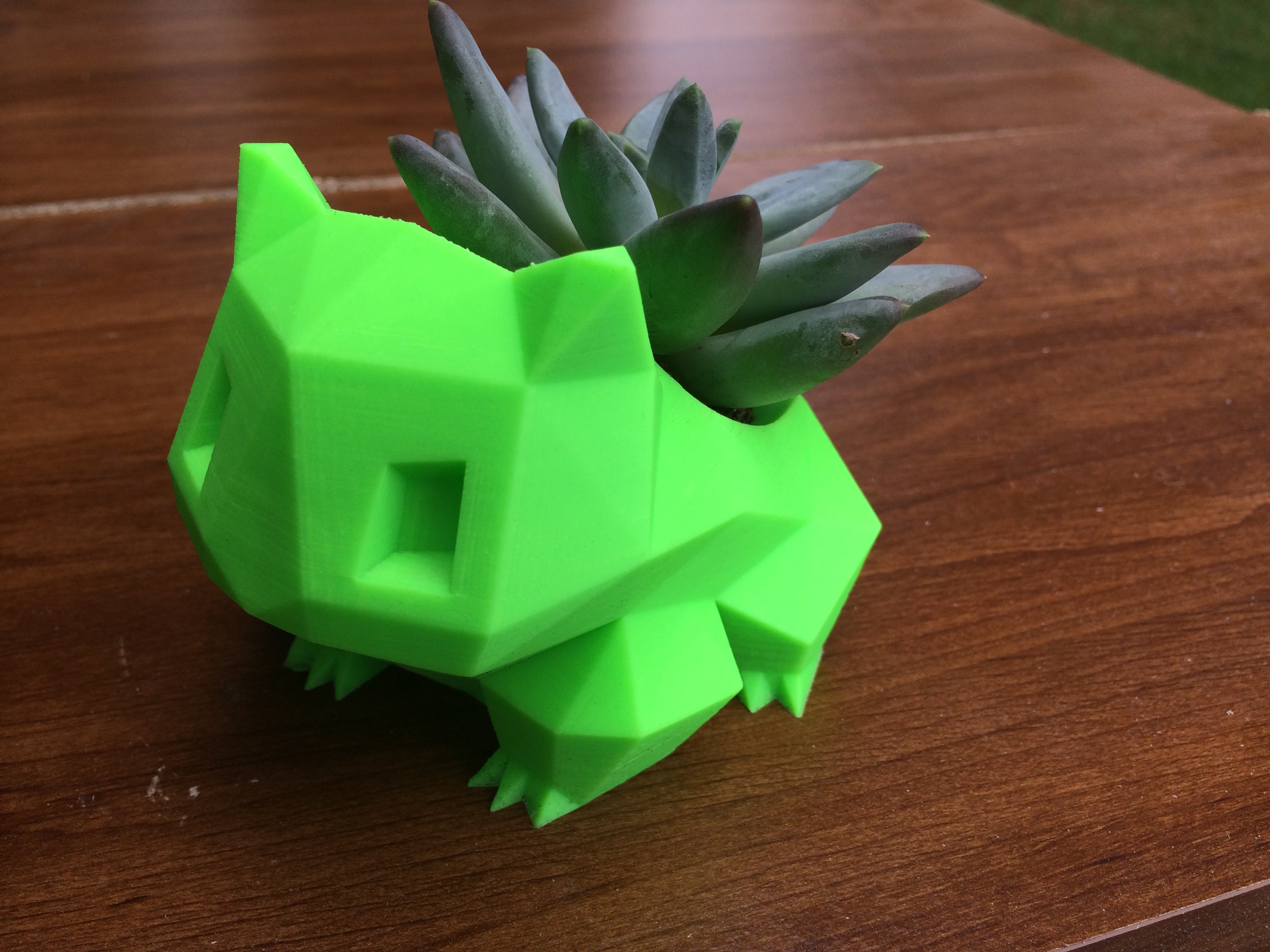 Low Poly Bulbasaur Planter by Hitsman - Thingiverse