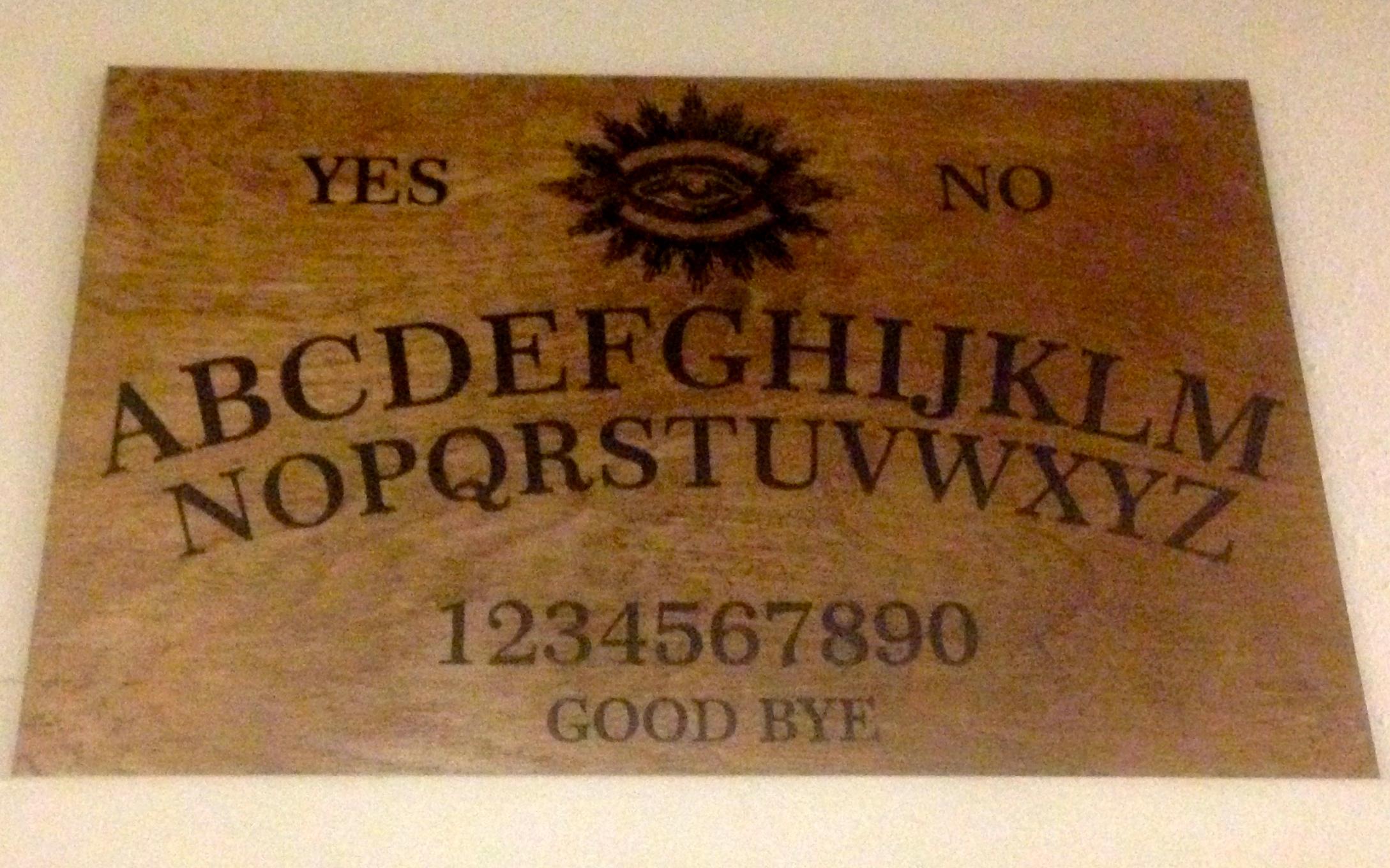 laser cut Ouija board  by Americanlasercutter - Thingiverse