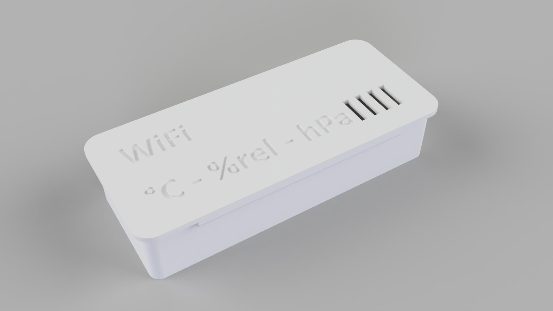 ESP8266 Multi Sensor BME280 (battery powerd) - T, Humidity