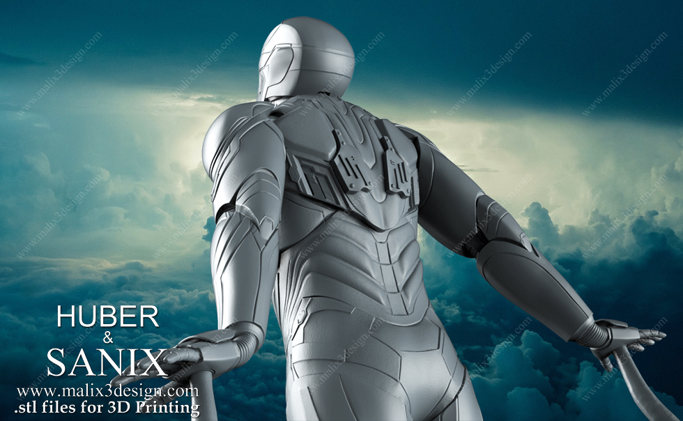 iron man mk50 infinity war with wings by jensformgeber