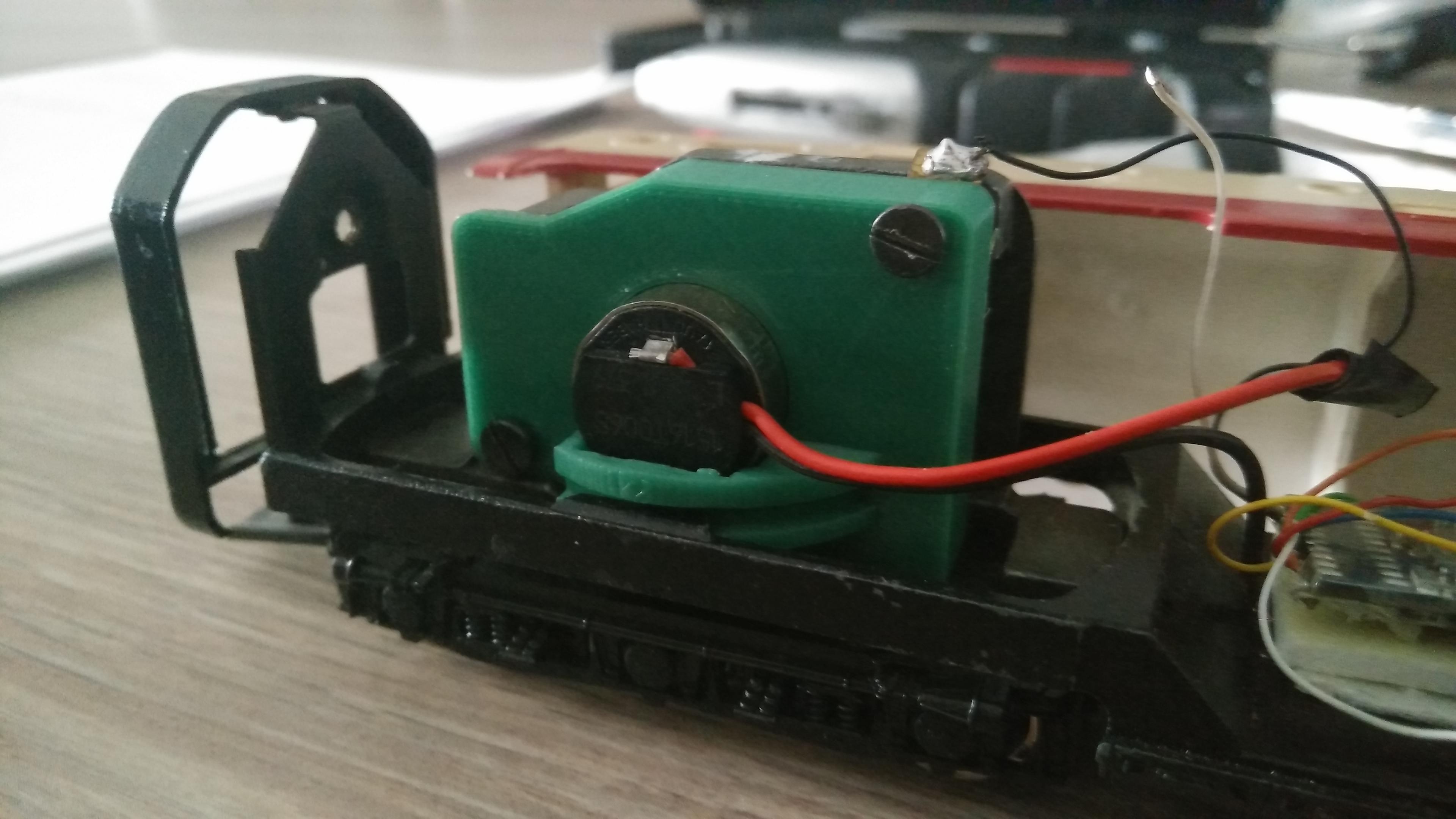 Marklin LCFM TEE RAM Maxon motor replacement by