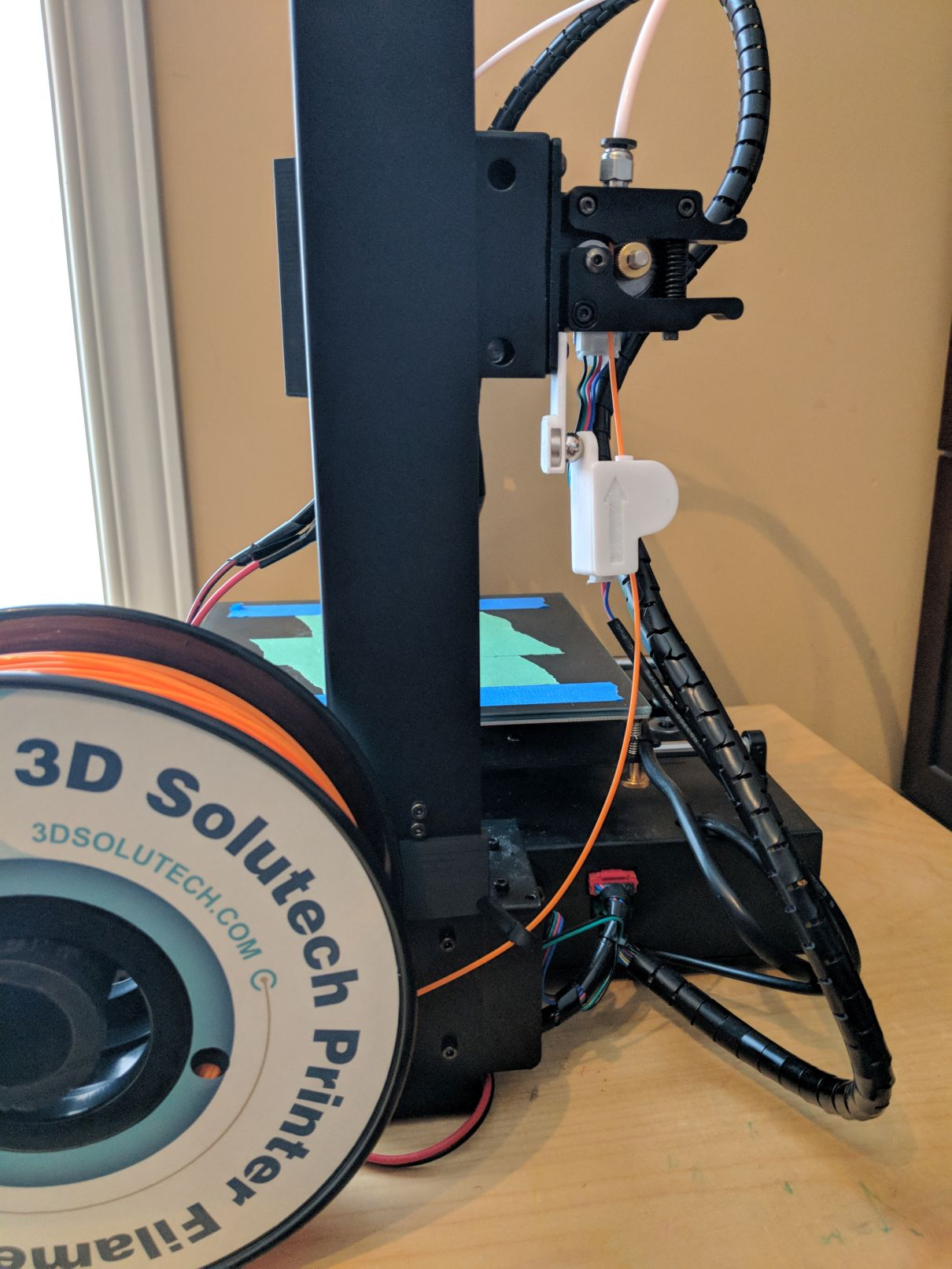 Anycubic I3 Mega Spool Holder Remix with filament guide by ltlowe ...