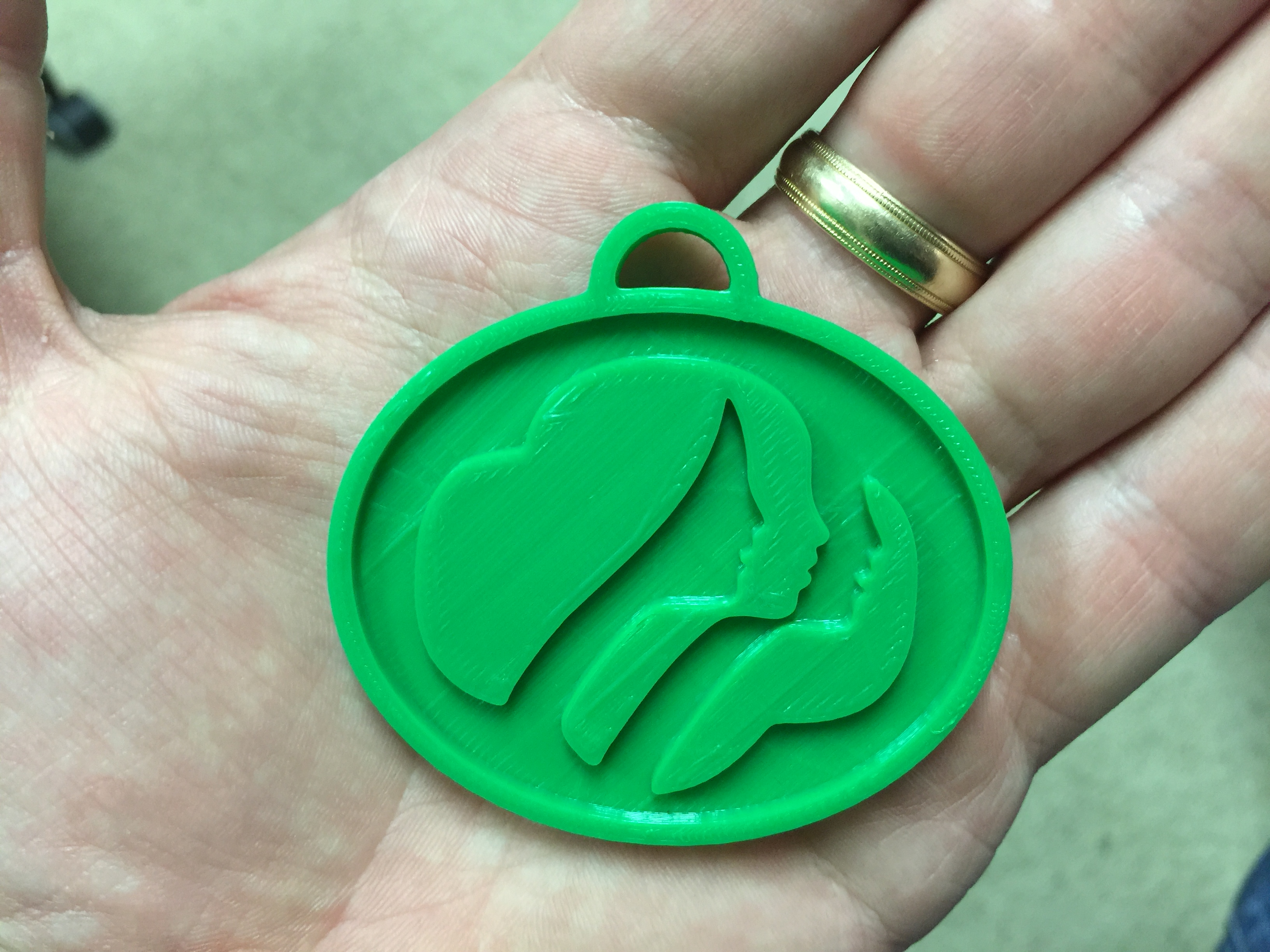Girl Scout Symbol For Swaps By Matt448 Thingiverse