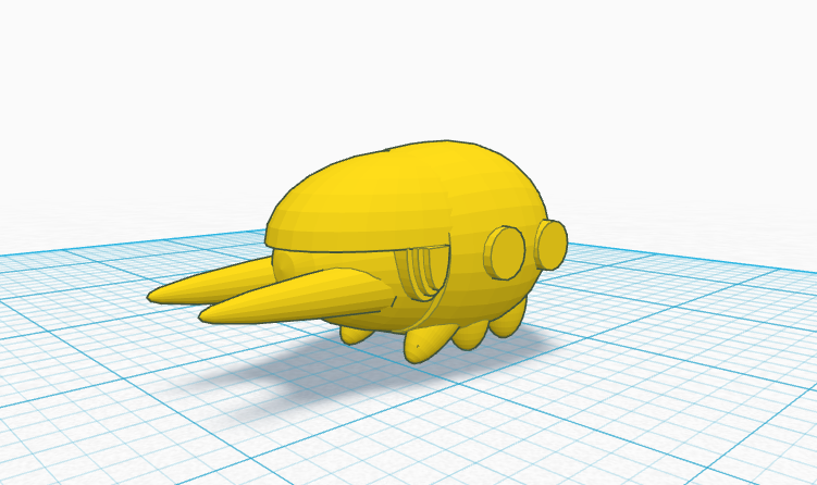 Grubbin Pokemon By Septire Thingiverse