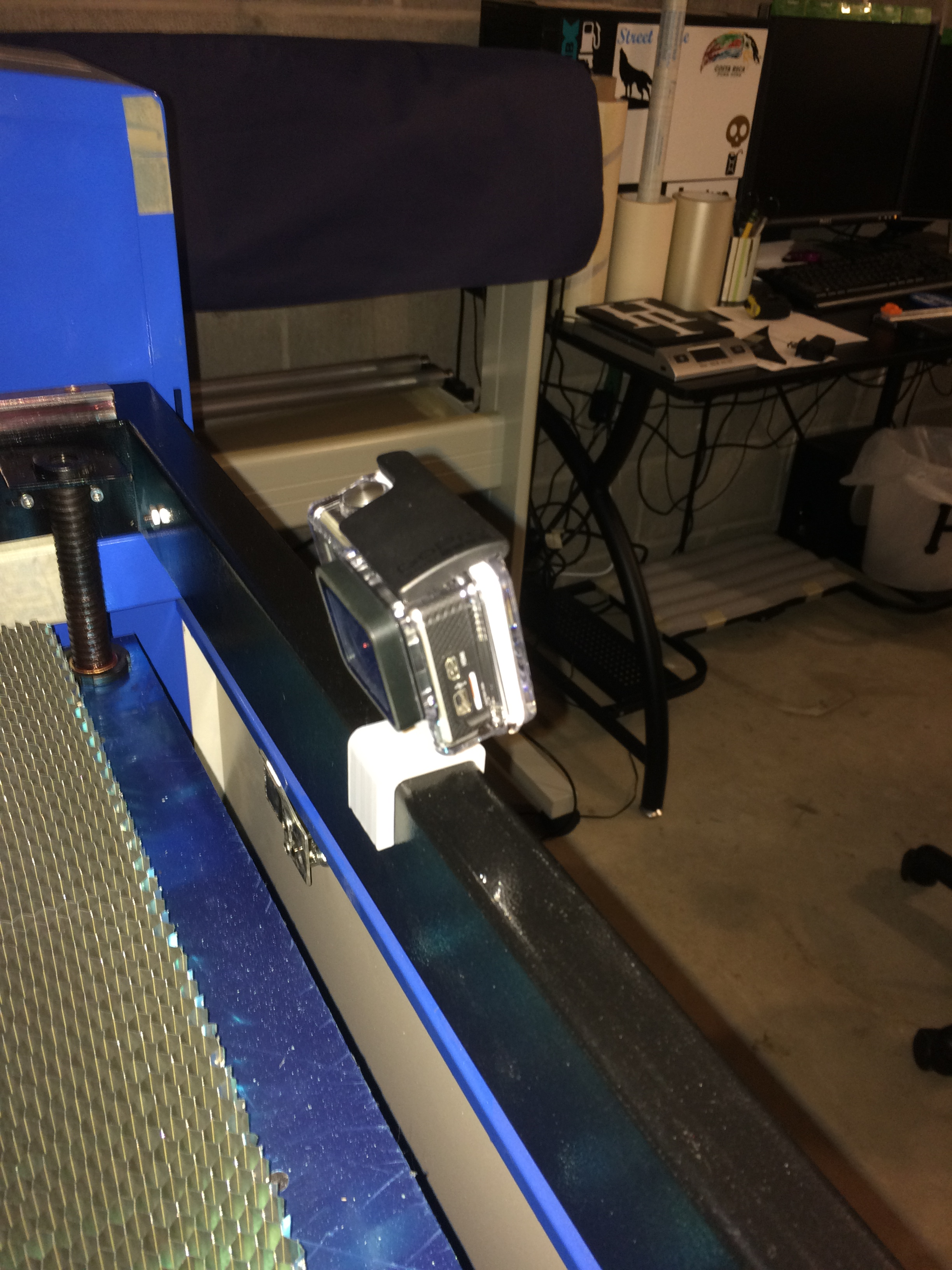 GoPro Mount - eBay 50W Laser Engraver by Lycan004 - Thingiverse