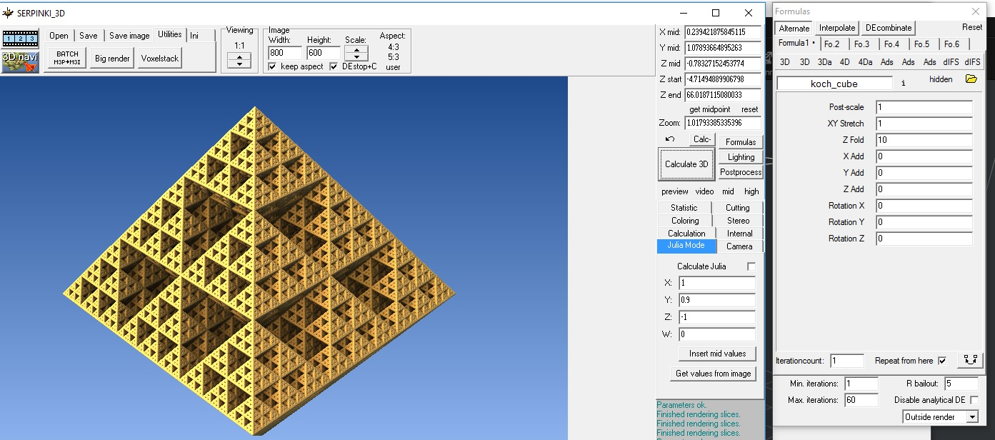 highres koch cube fractal by kavace - Thingiverse