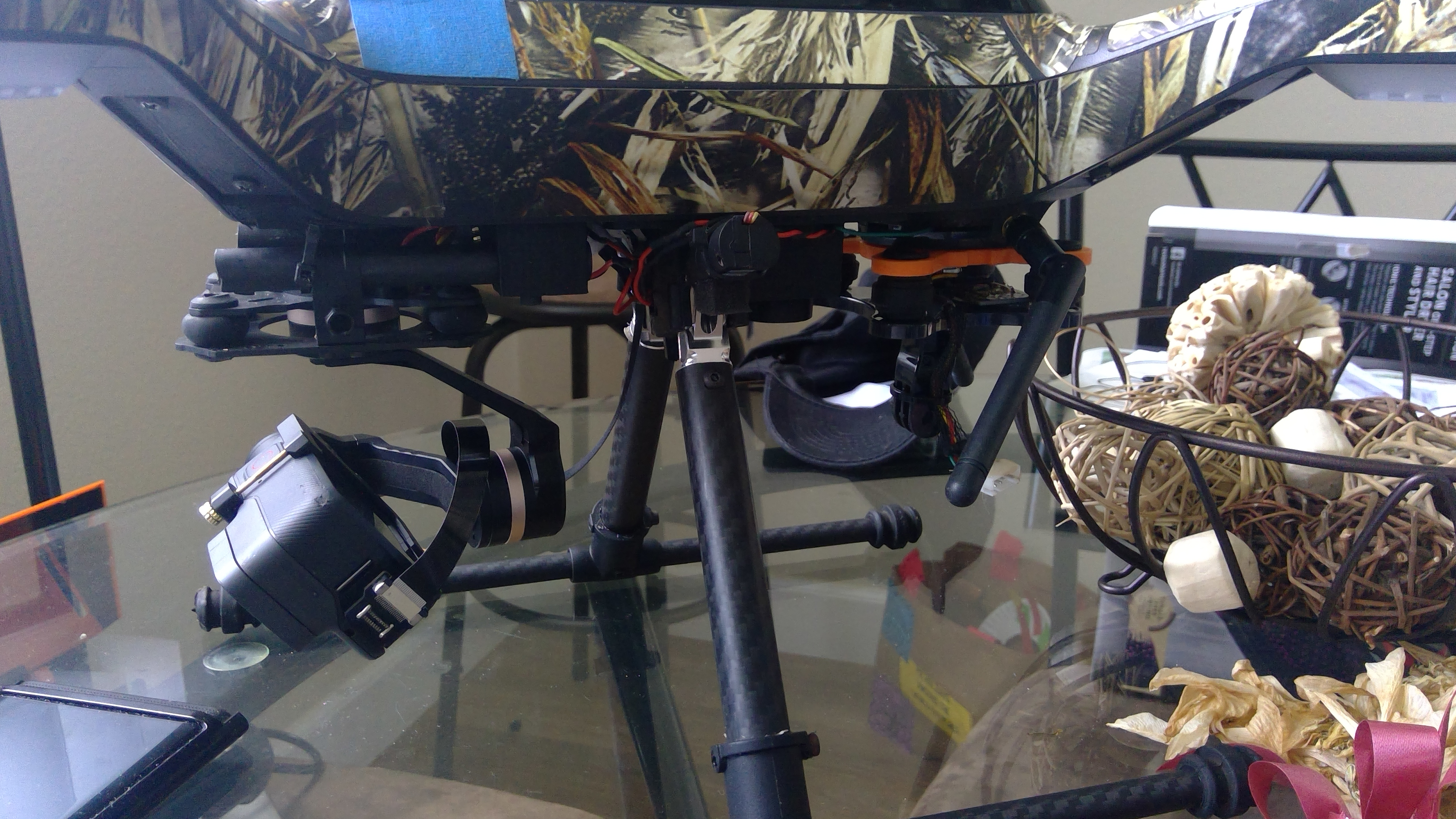 3DR Solo Tarot Gimbal Mount by jonathanhair07 - Thingiverse