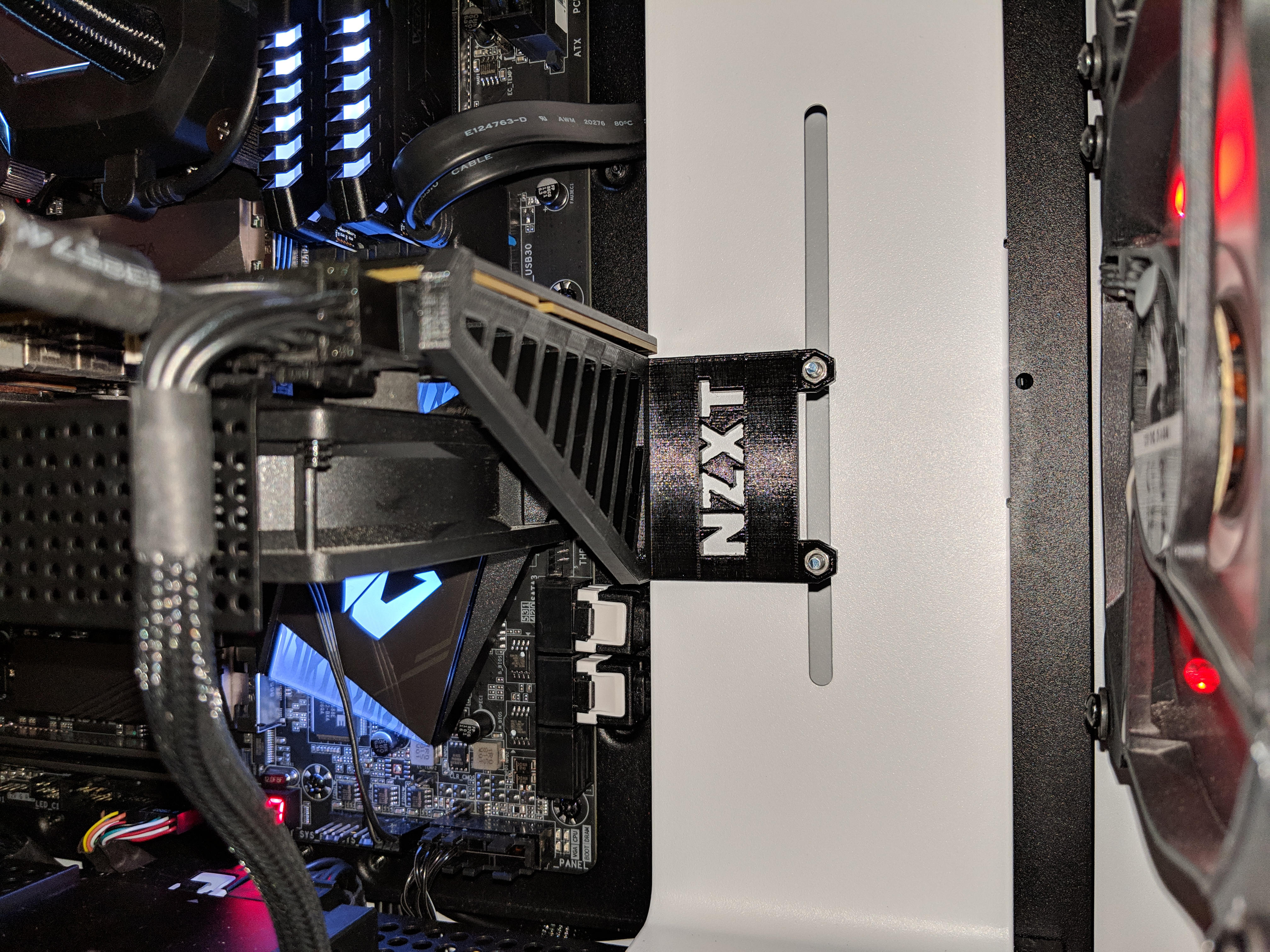 NZXT H700 GPU Support Bracket by ucancallmebob89 - Thingiverse
