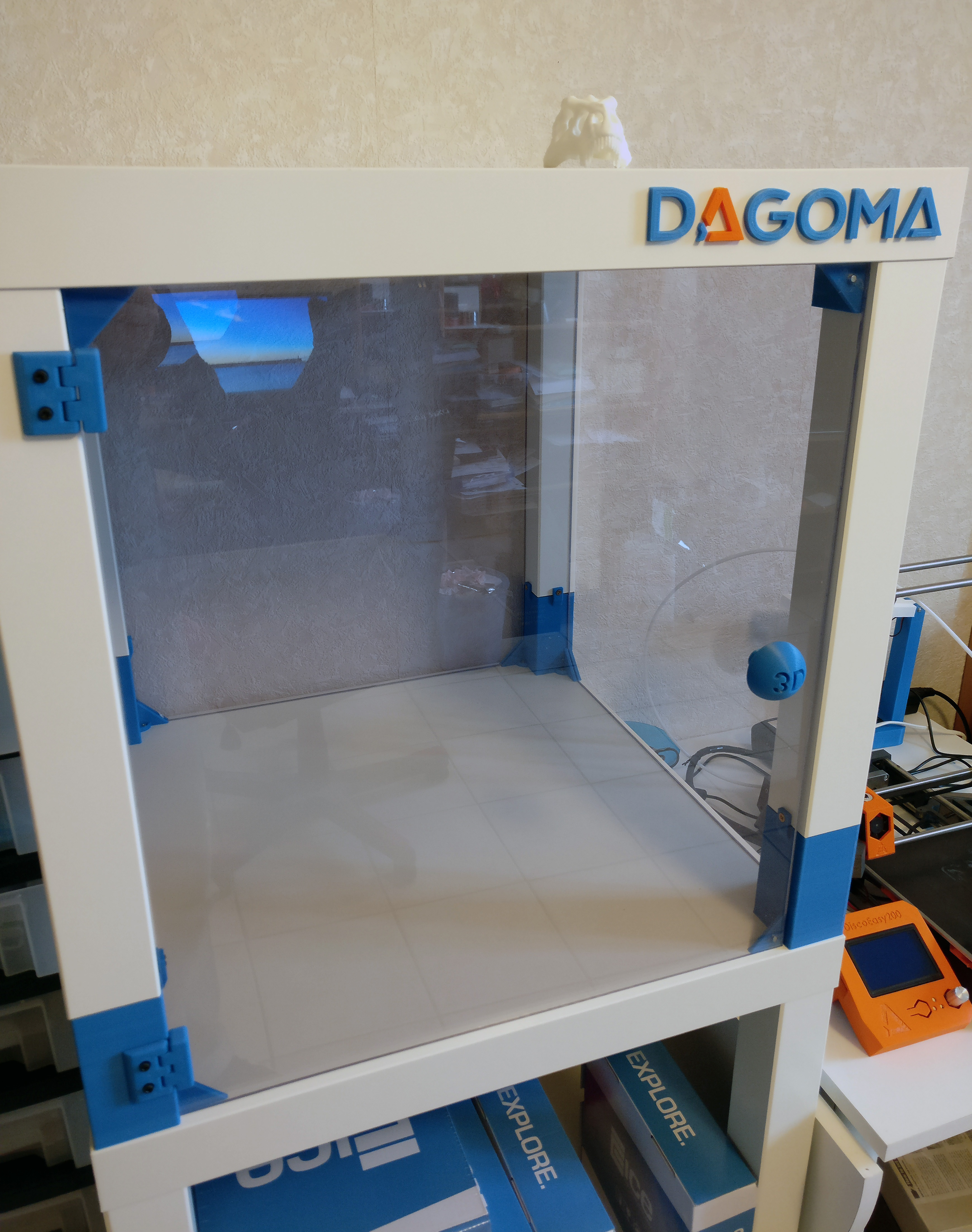 3d Printer Case With Lack Tables Ikea By Shoyun Thingiverse