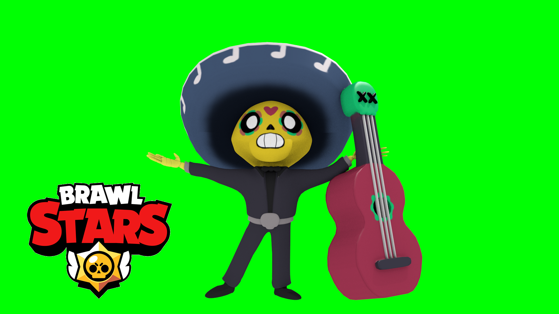 Poco - Brawl Stars by OptimusDWB - Thingiverse