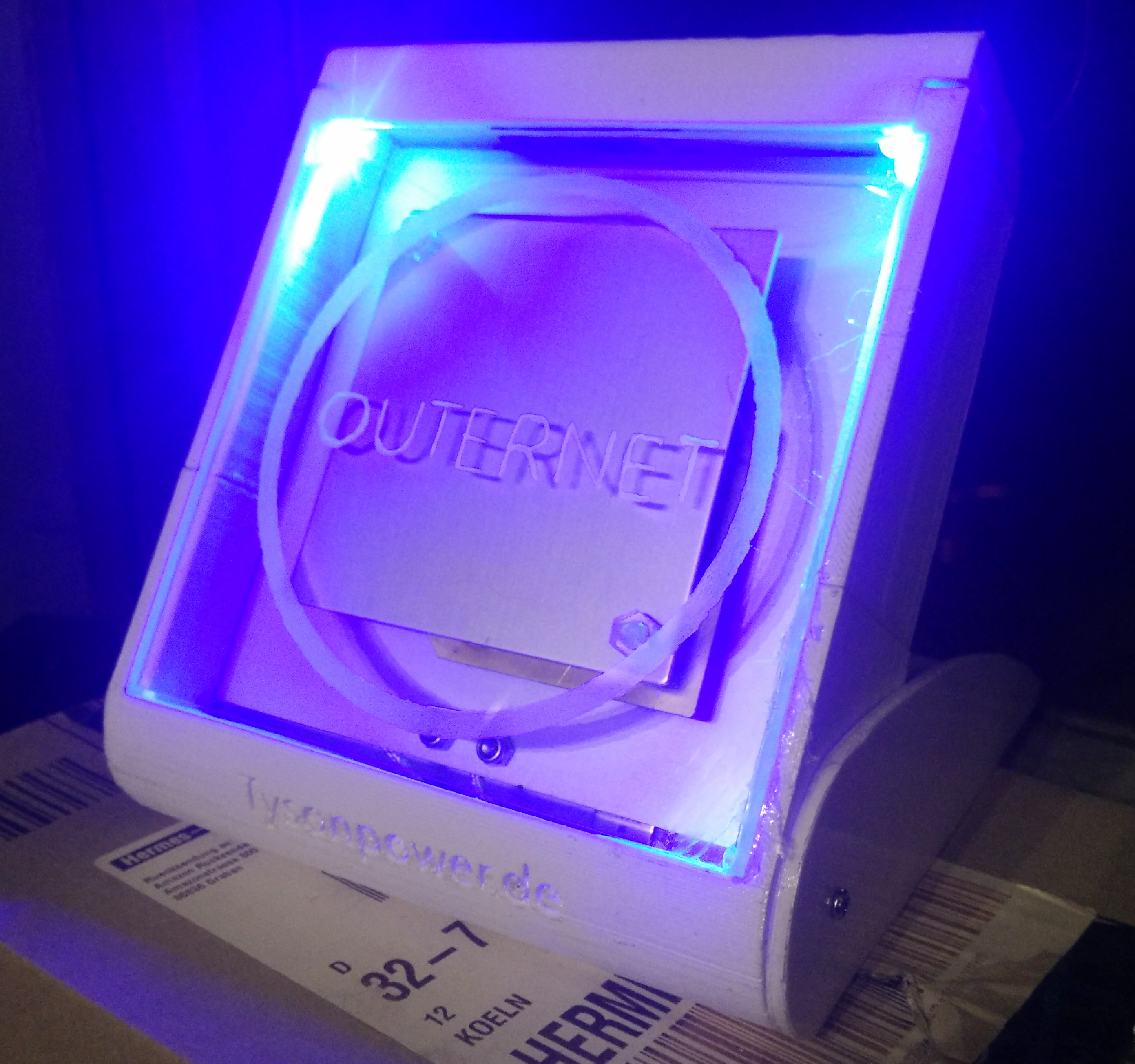 Universal Outernet Case for the DIY Kit (Any elevation angle) by