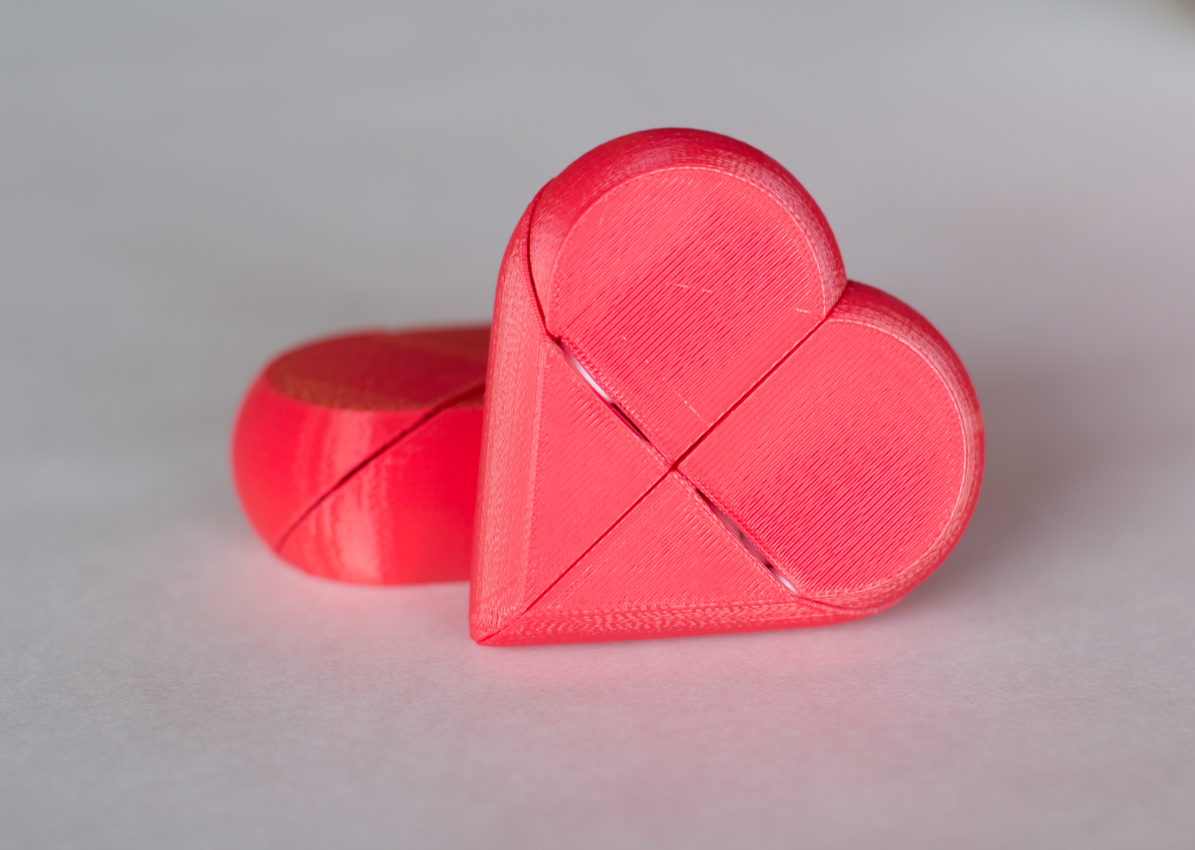 Preassembled Secret Heart Box by emmett Thingiverse